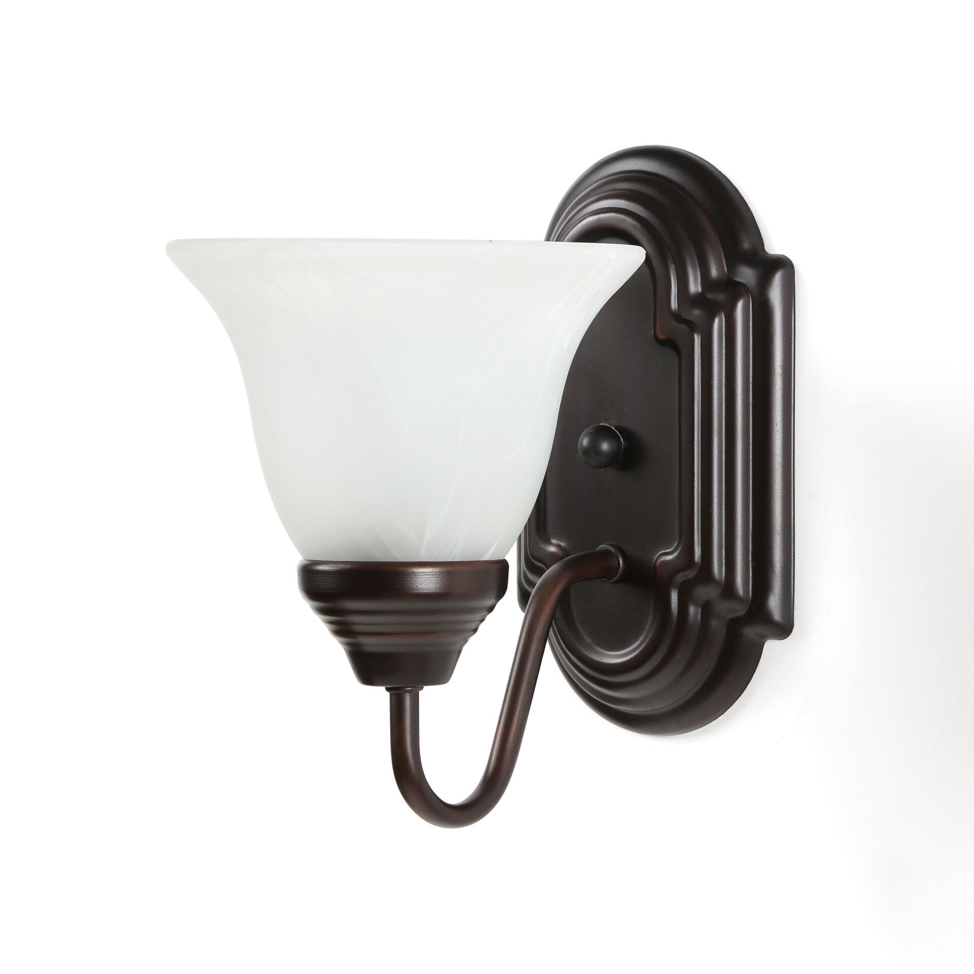 Wall Sconce With Magnifying Glass : Charlton Home Harrington 1 Light Wall Sconce & Reviews Wayfair.ca