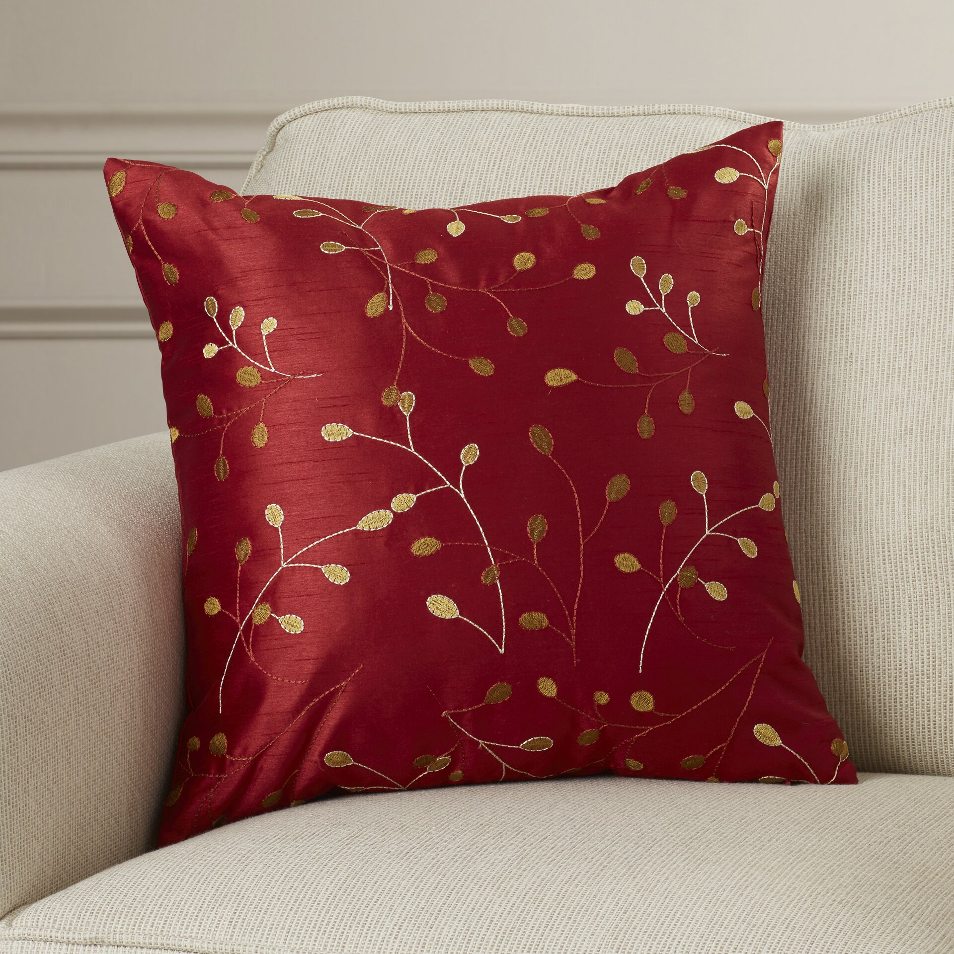Decorative Pillow Wayfair : Charlton Home Shelby Throw Pillow & Reviews Wayfair.ca