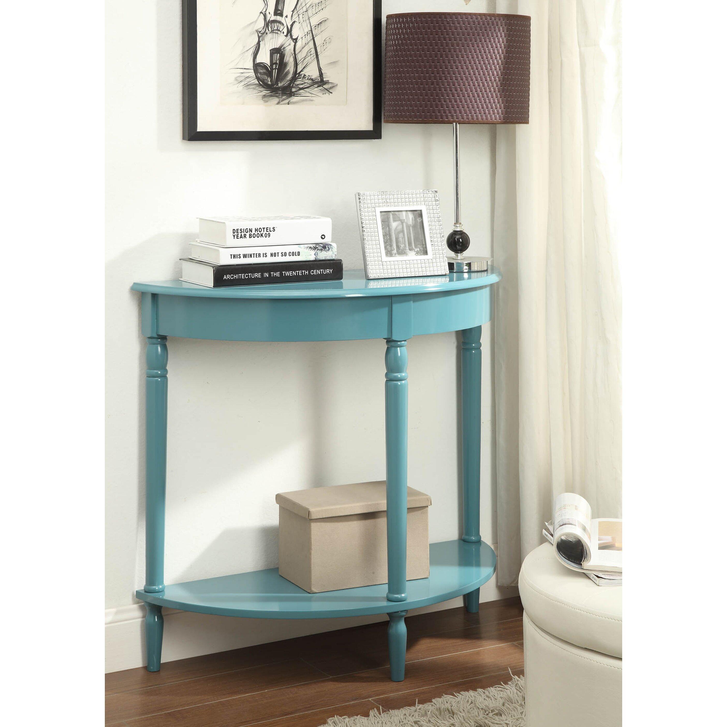 Foyer Furniture Walmart : Charlton home carlisle half circle console table reviews