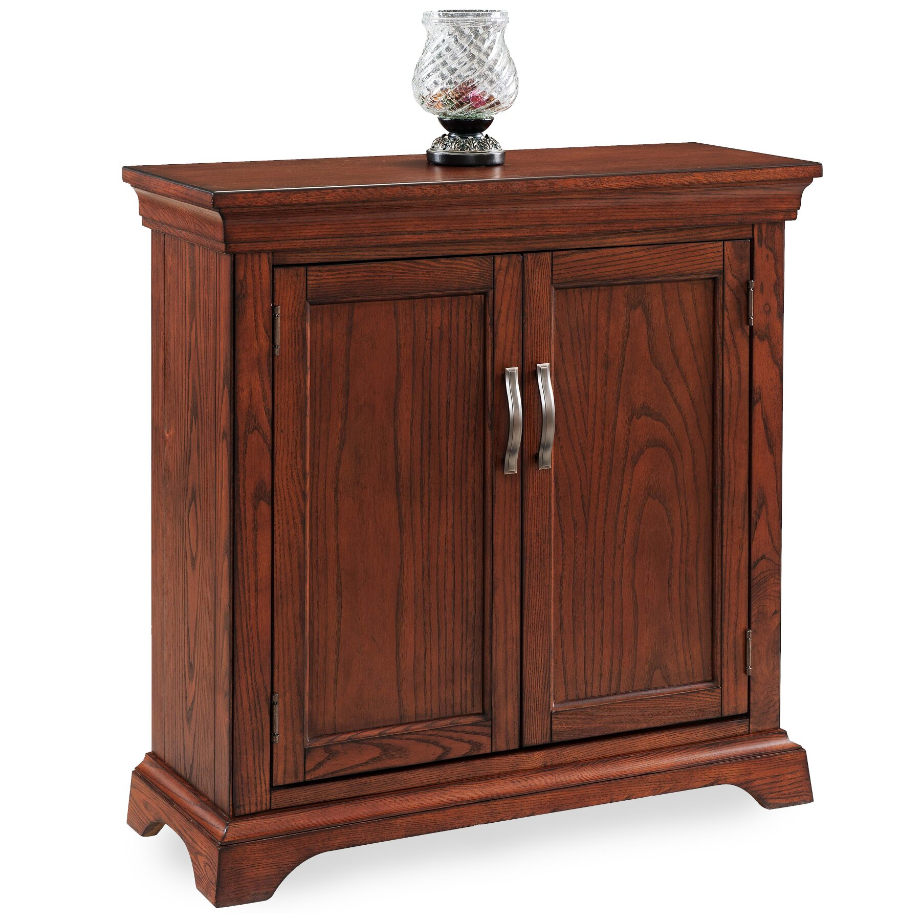 Foyer Cabinets: Charlton Home Apple Valley Traditional Foyer Cabinet/Hall