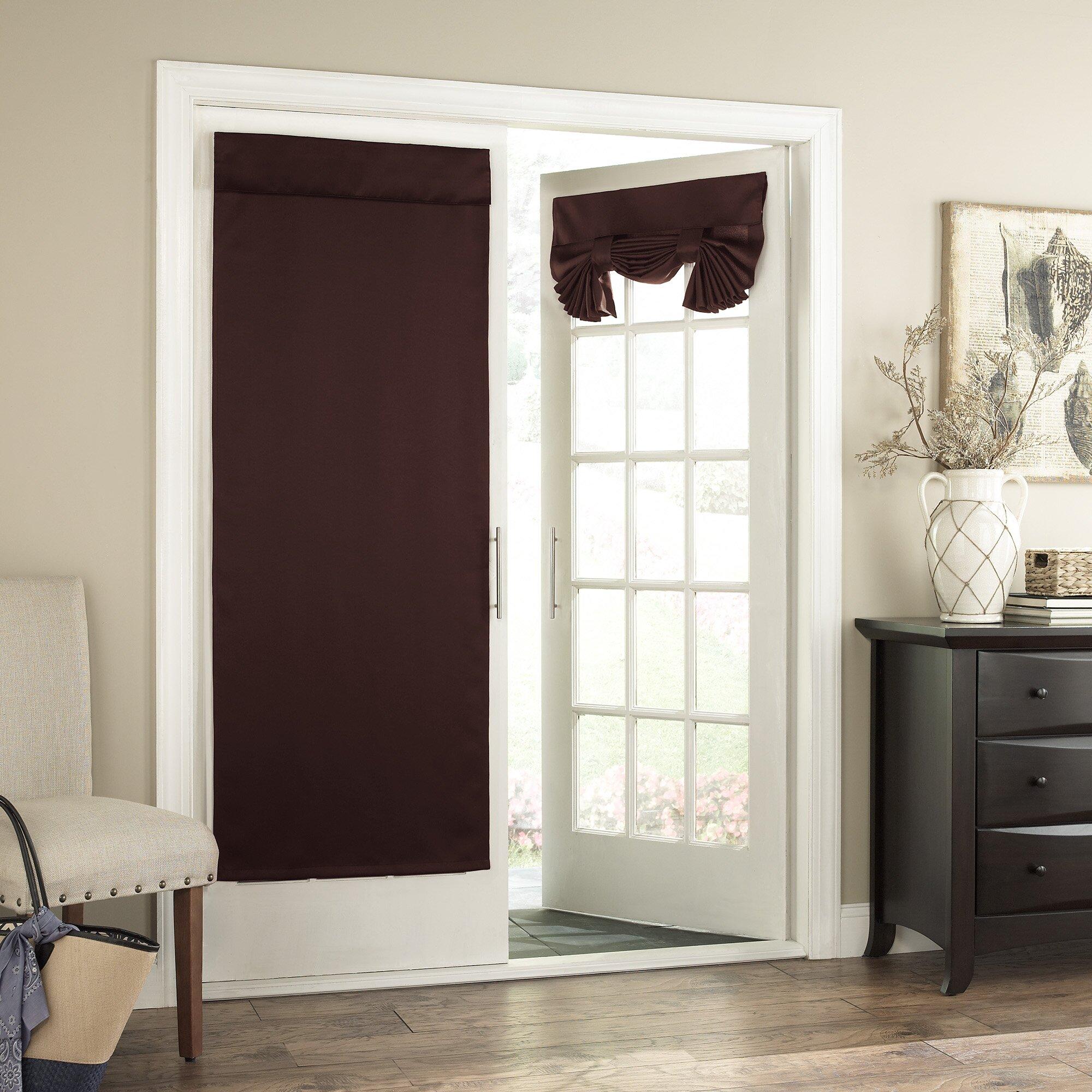 Charlton Home Cantor Window Light filtering Door Panel