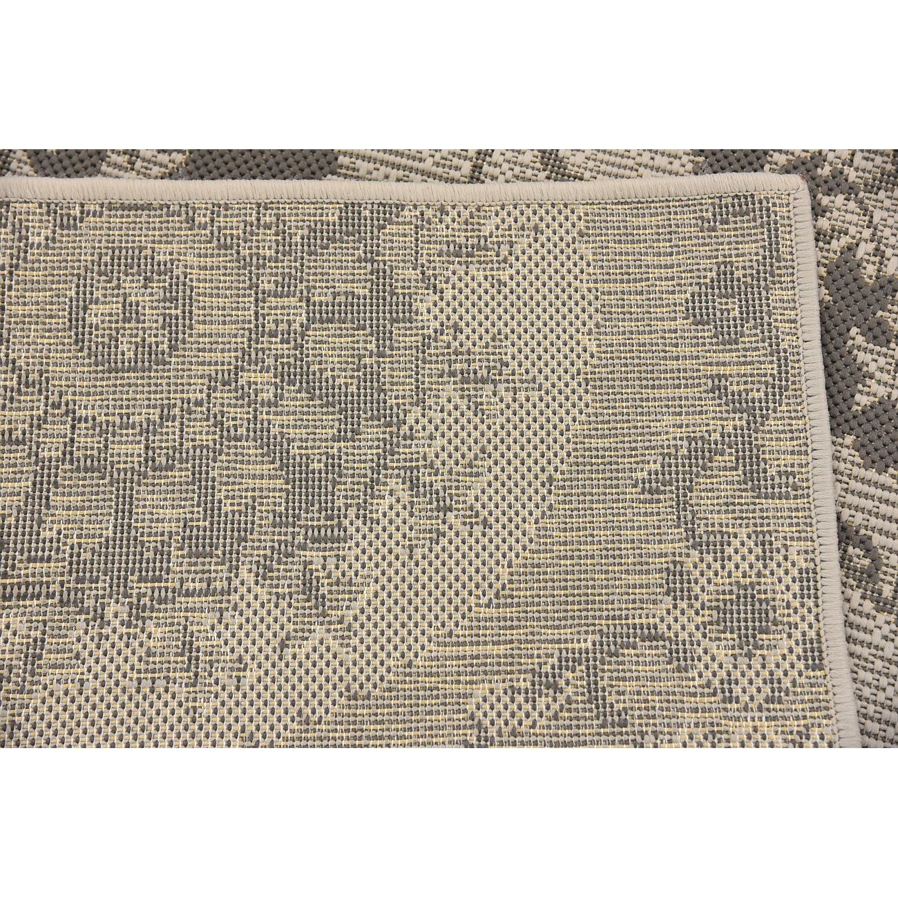 Charlton Home Forbes Gray Outdoor Area Rug