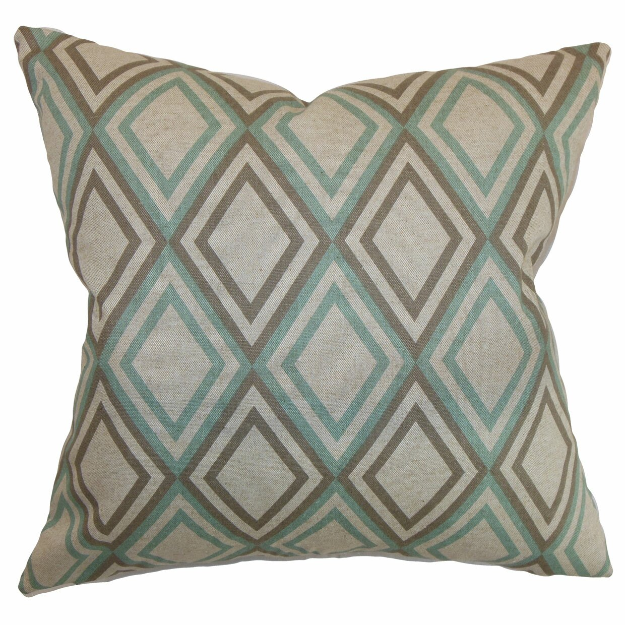 Throw Pillow Gallery : Varick Gallery Elmore Geometric Cotton Throw Pillow & Reviews Wayfair
