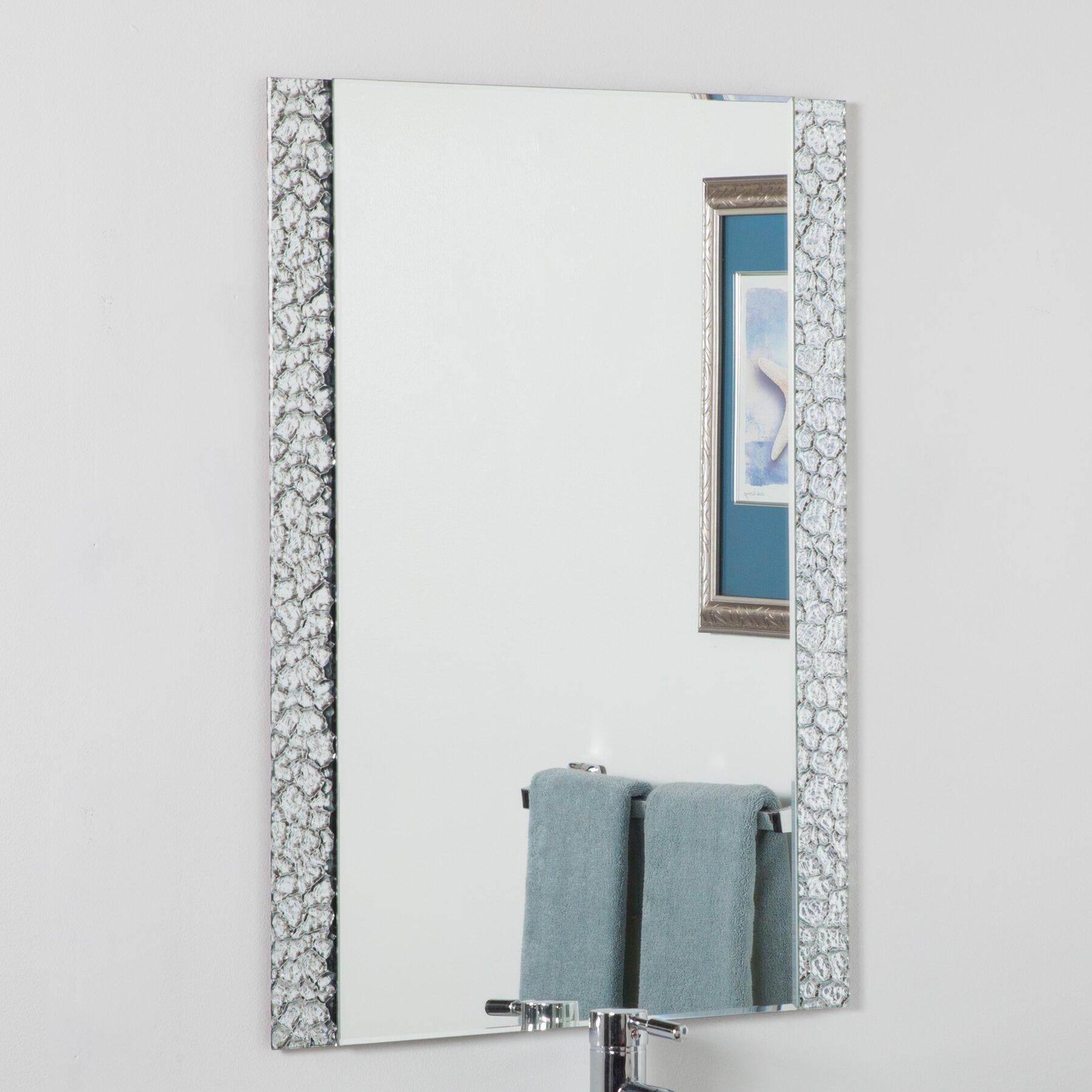 Varick gallery logan vanity wall mirror reviews wayfair for Mirror gallery wall