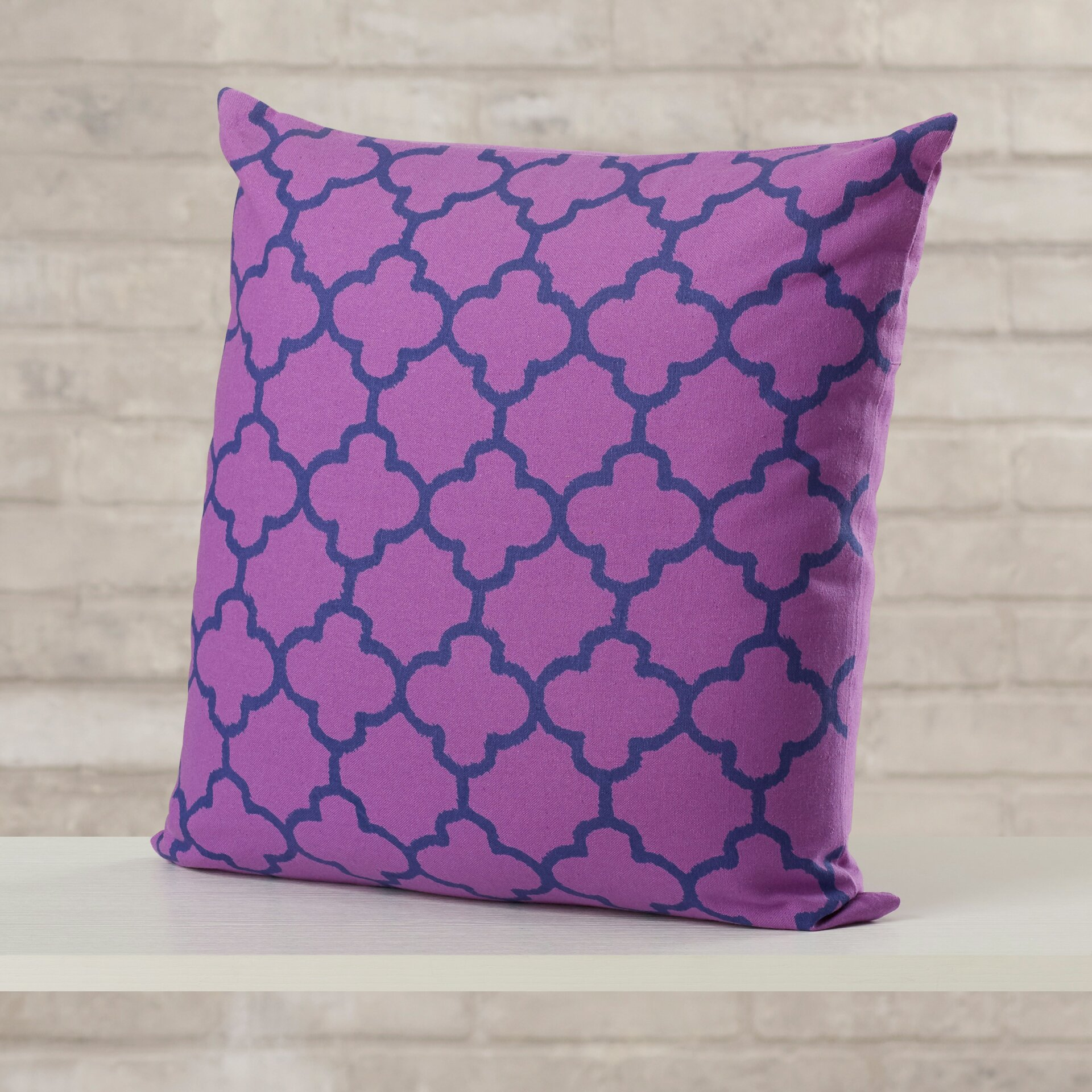 Throw Pillow Gallery : Varick Gallery Arbogast Print Cotton Throw Pillow & Reviews Wayfair.ca