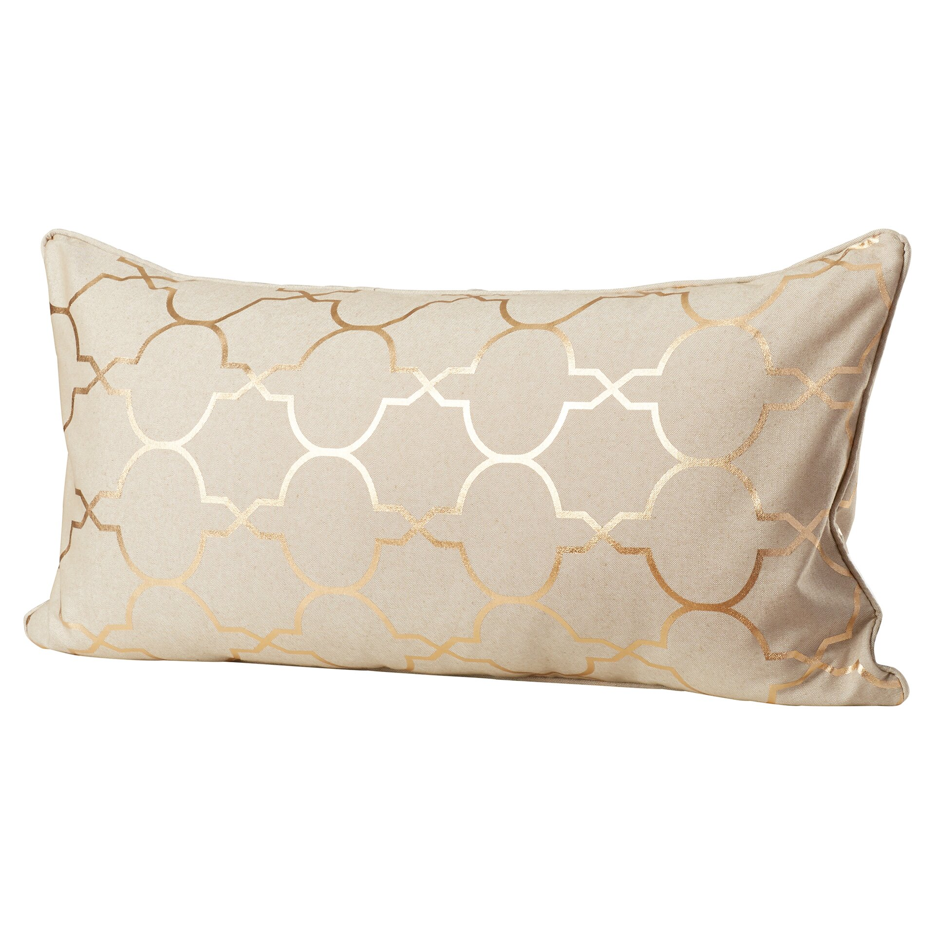 Throw Pillow Gallery : Varick Gallery Salisbury Foil Tile Throw Pillow & Reviews Wayfair
