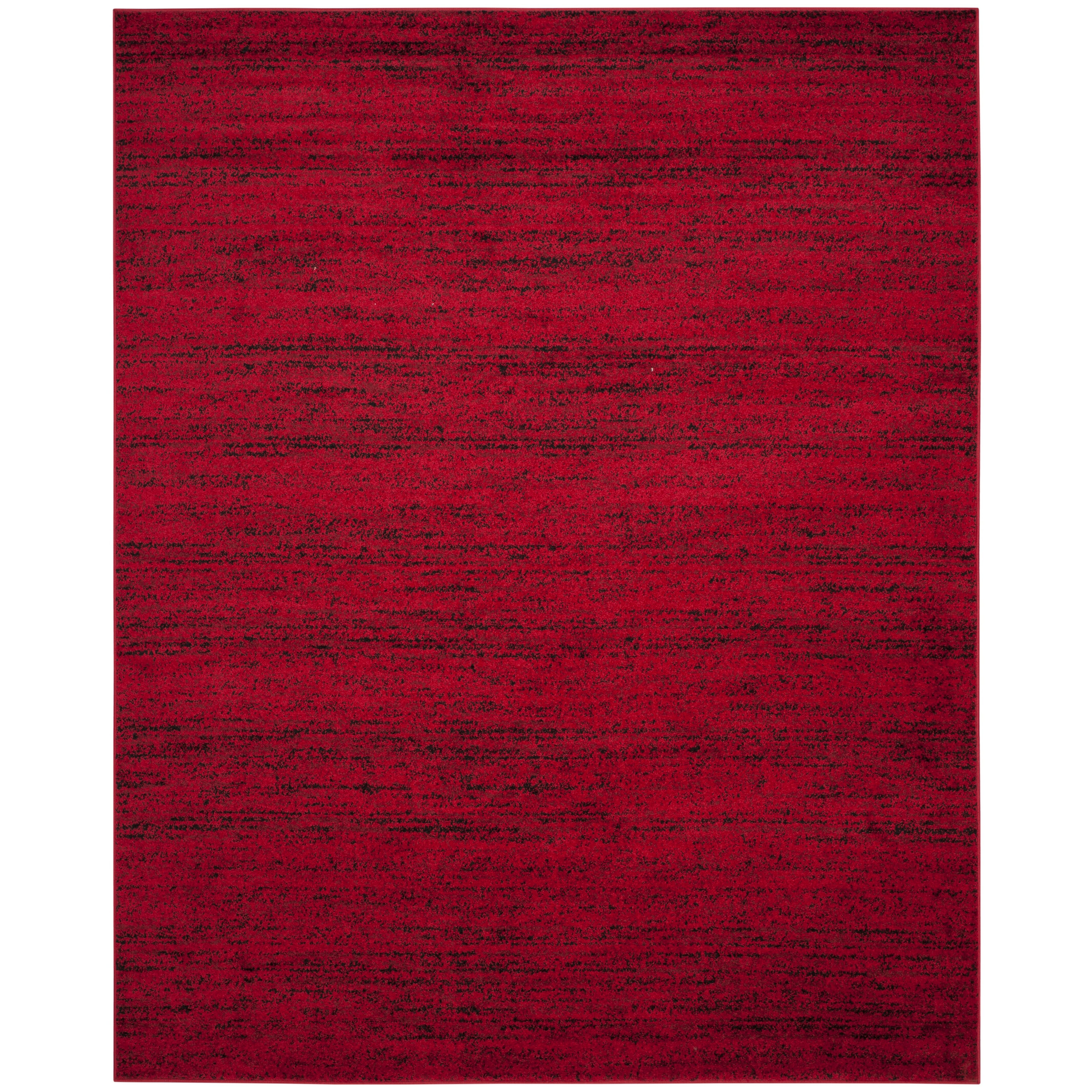 28 black red area rug charlton home cranmore black red area