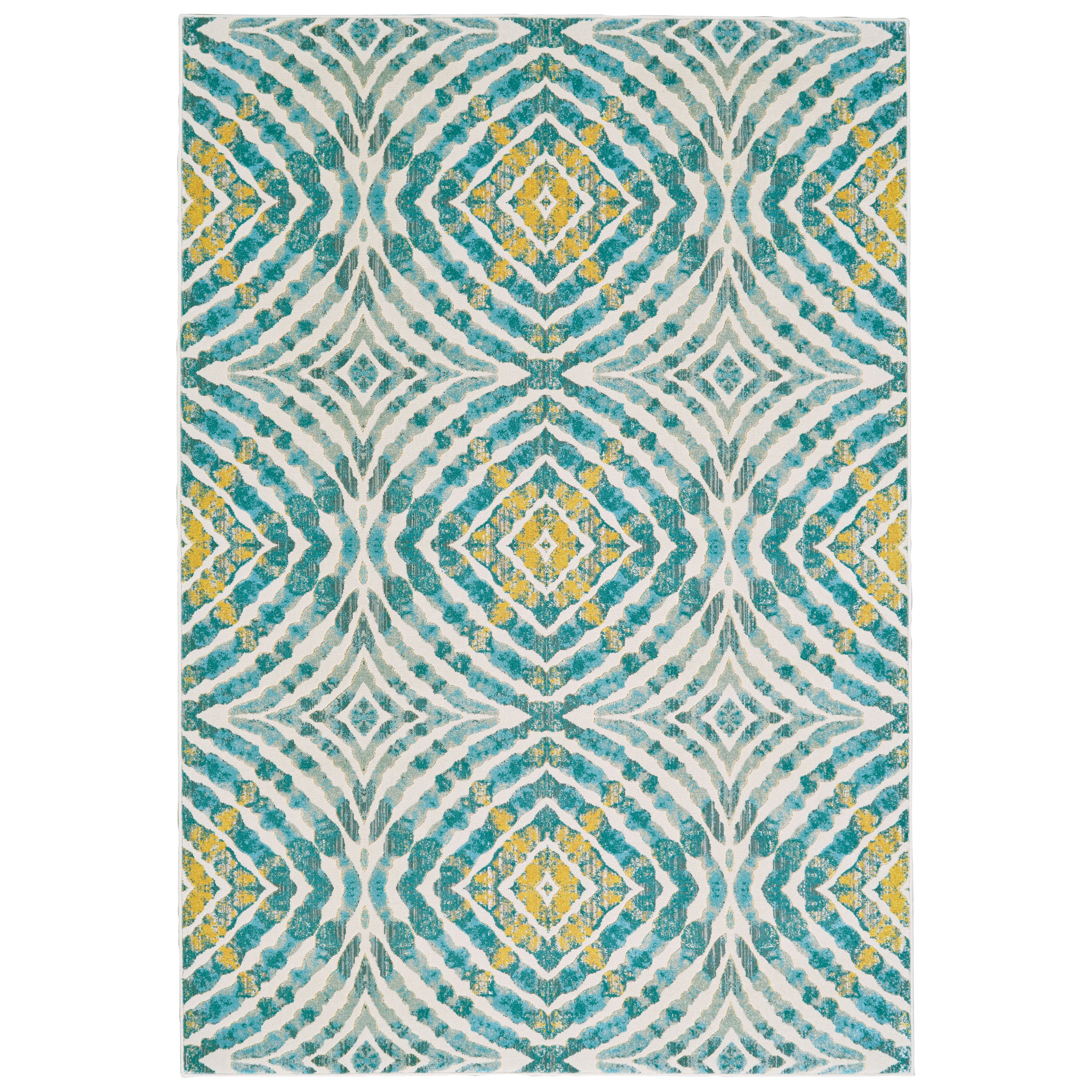Teal Area Rug: Varick Gallery Sutton Place Teal Area Rug & Reviews