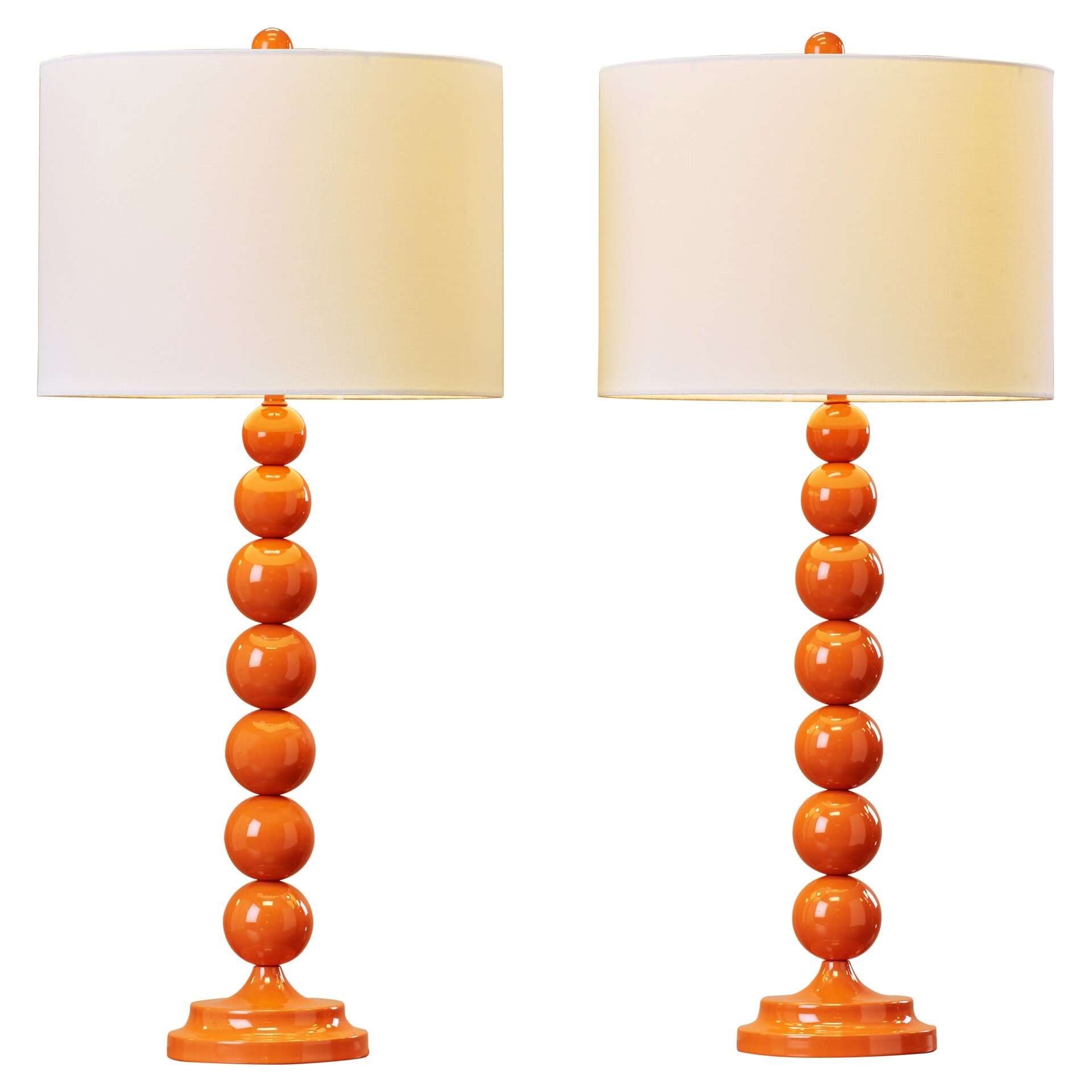 varick gallery oakwood 31 table lamps set of 2 reviews wayfair. Black Bedroom Furniture Sets. Home Design Ideas