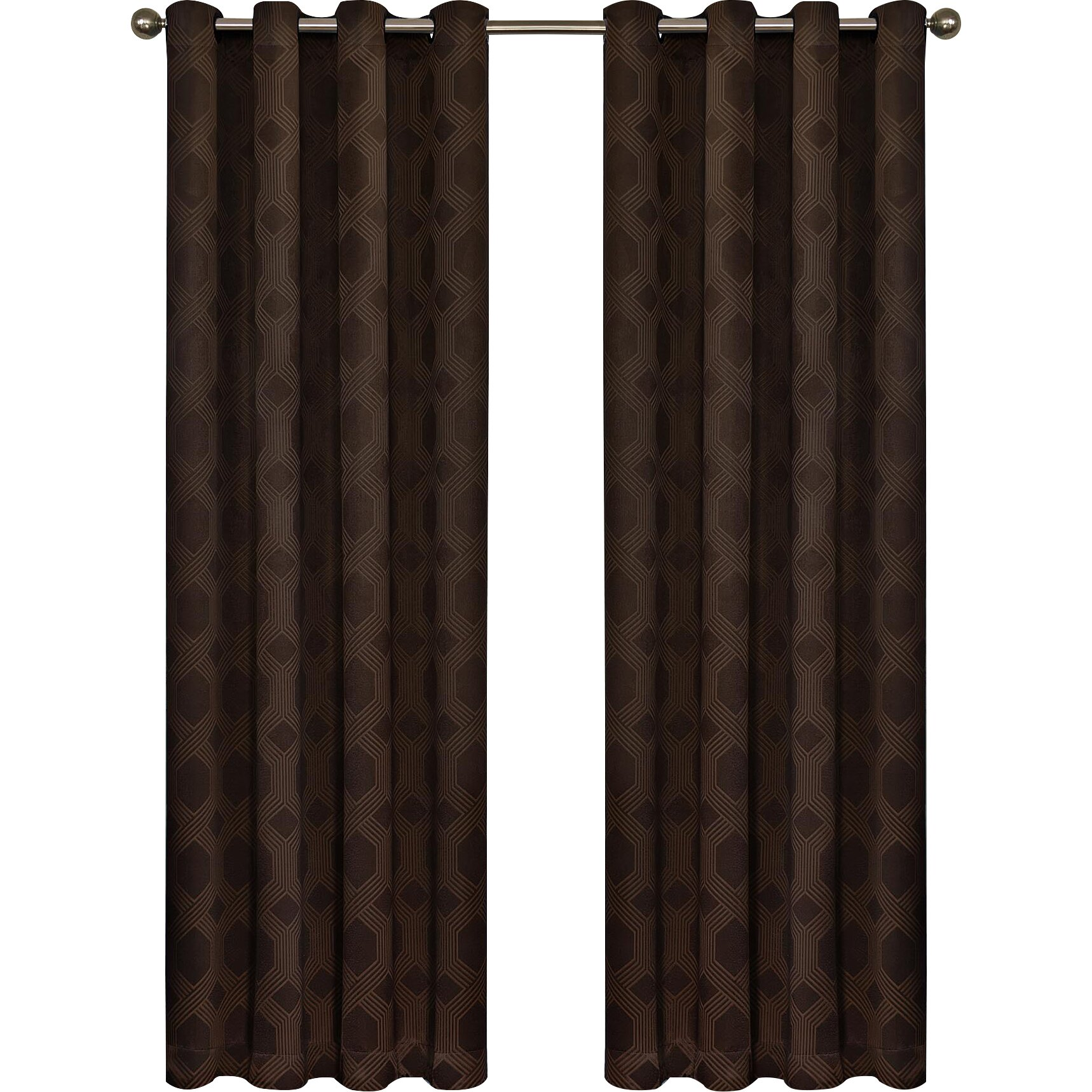 varick gallery little italy blackout curtain single panel