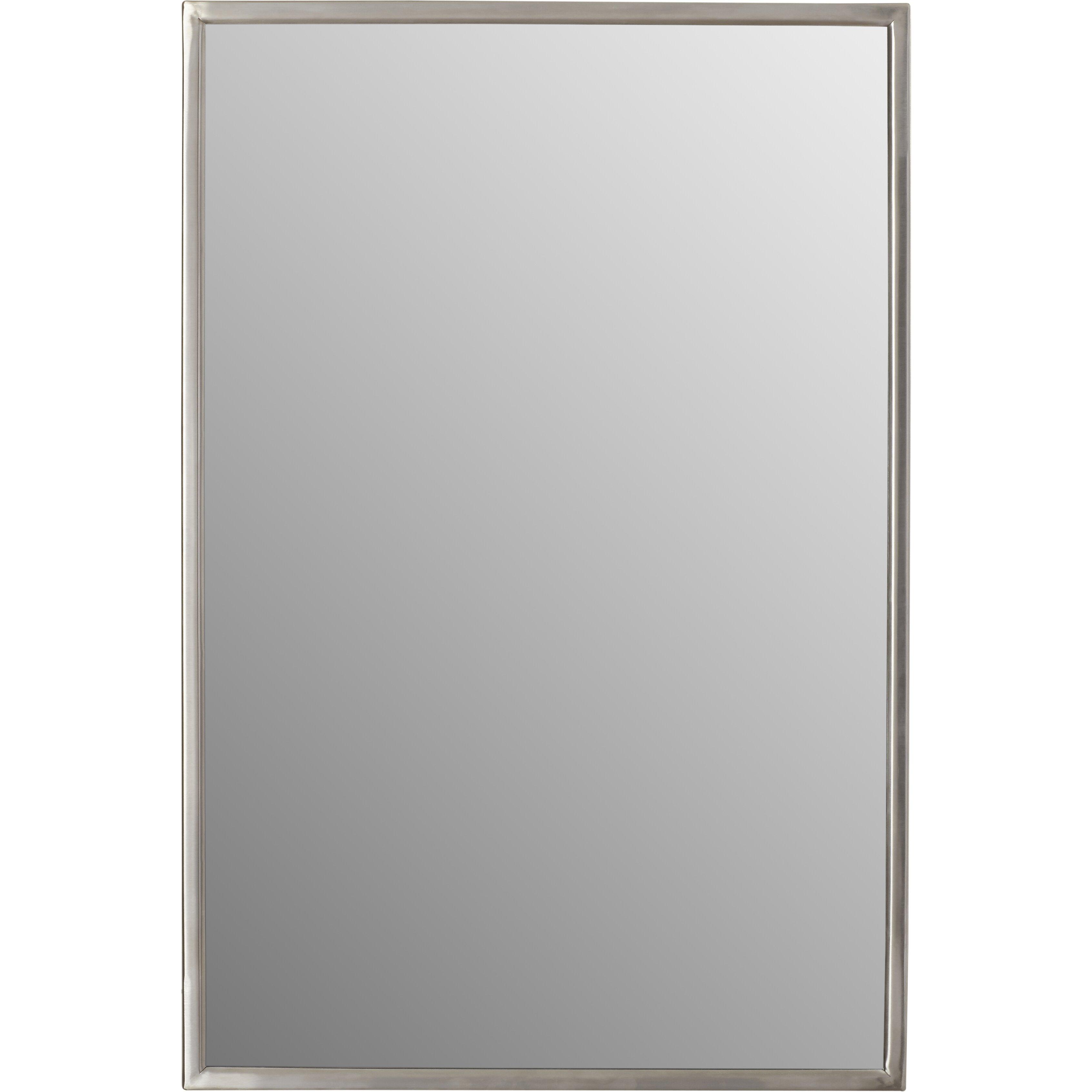 Varick Gallery Ewell Angle Frame Wall Mirror Amp Reviews