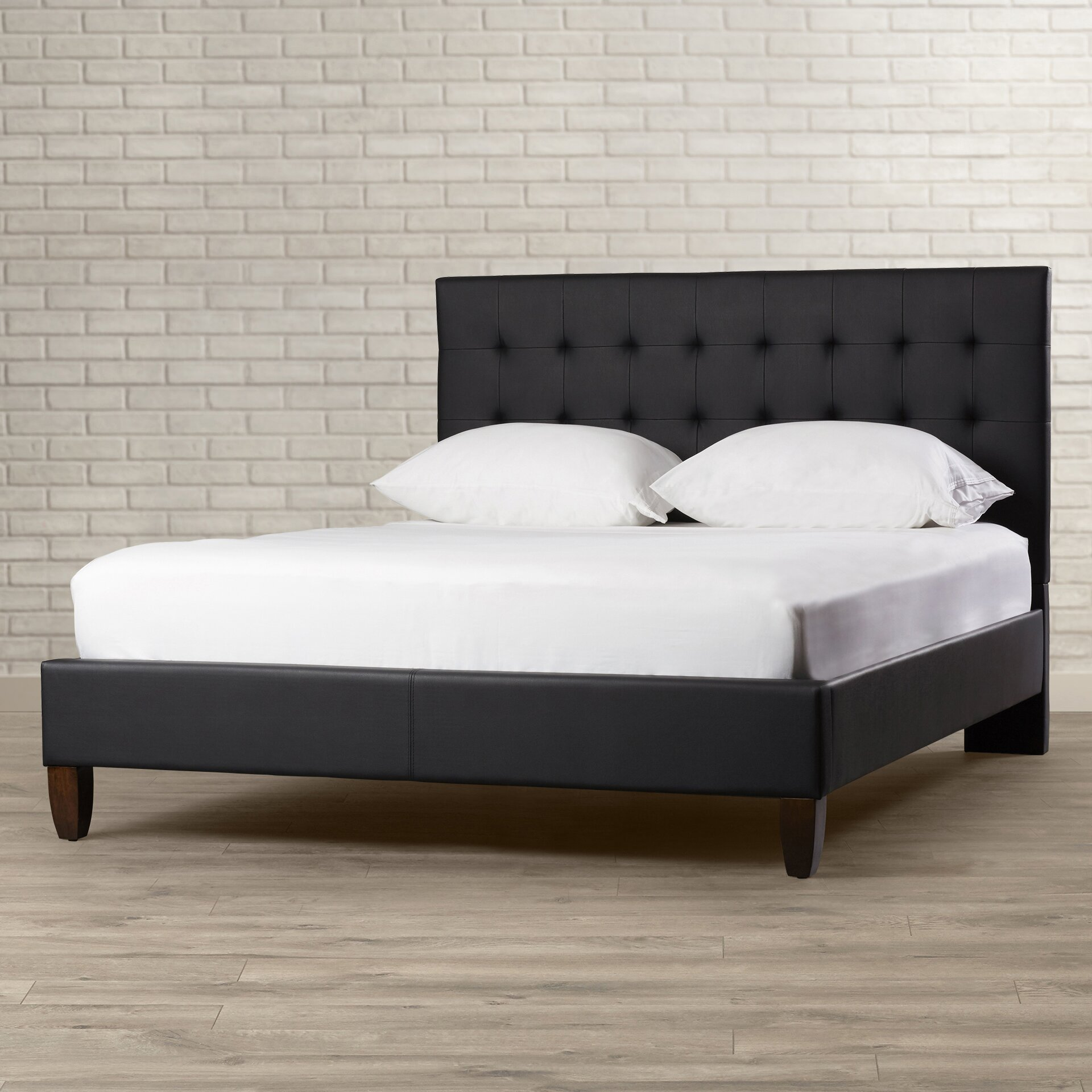 Varick Gallery Cortez Upholstered Storage Platform Bed