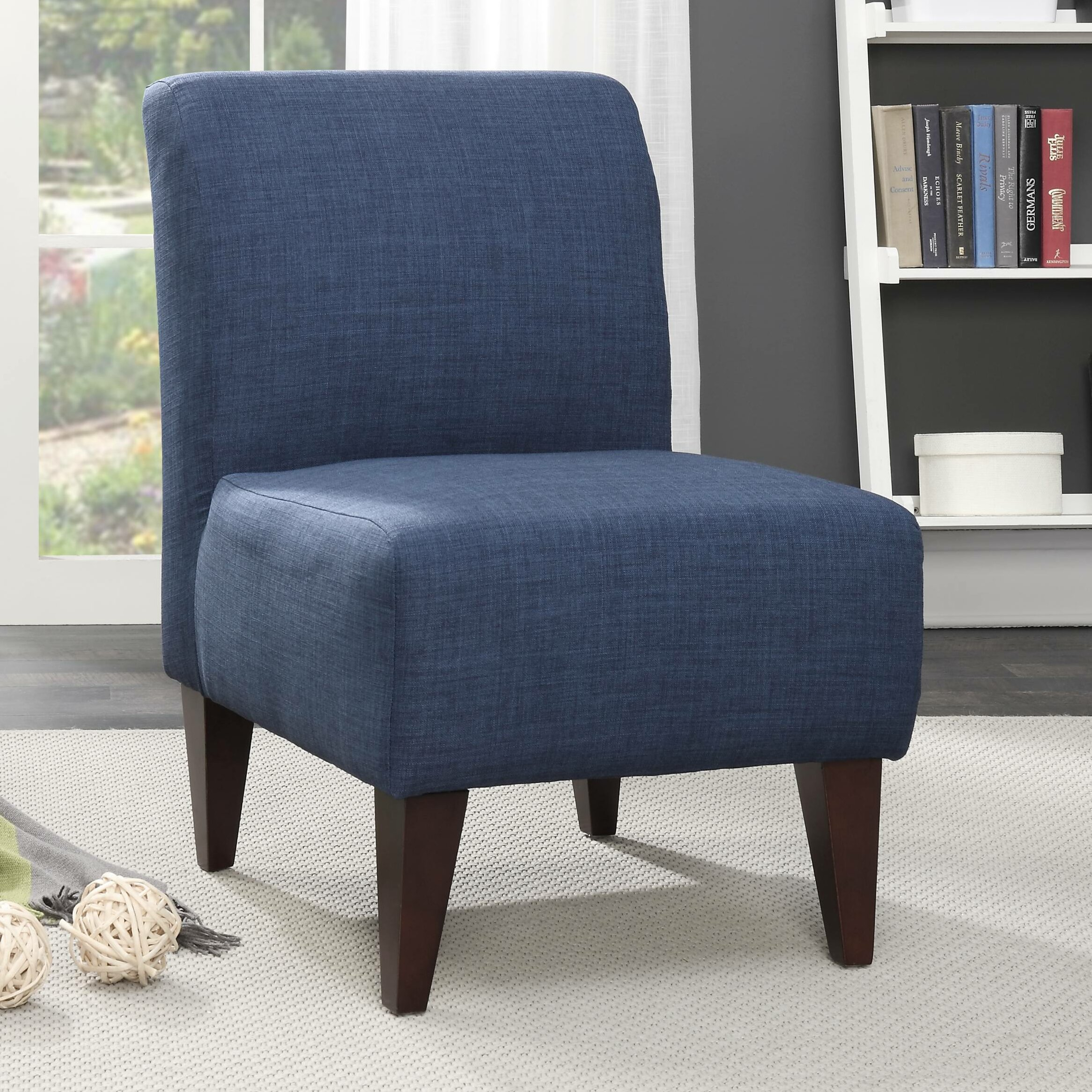 Varick gallery proctor slipper chair reviews wayfair for Slipper chair