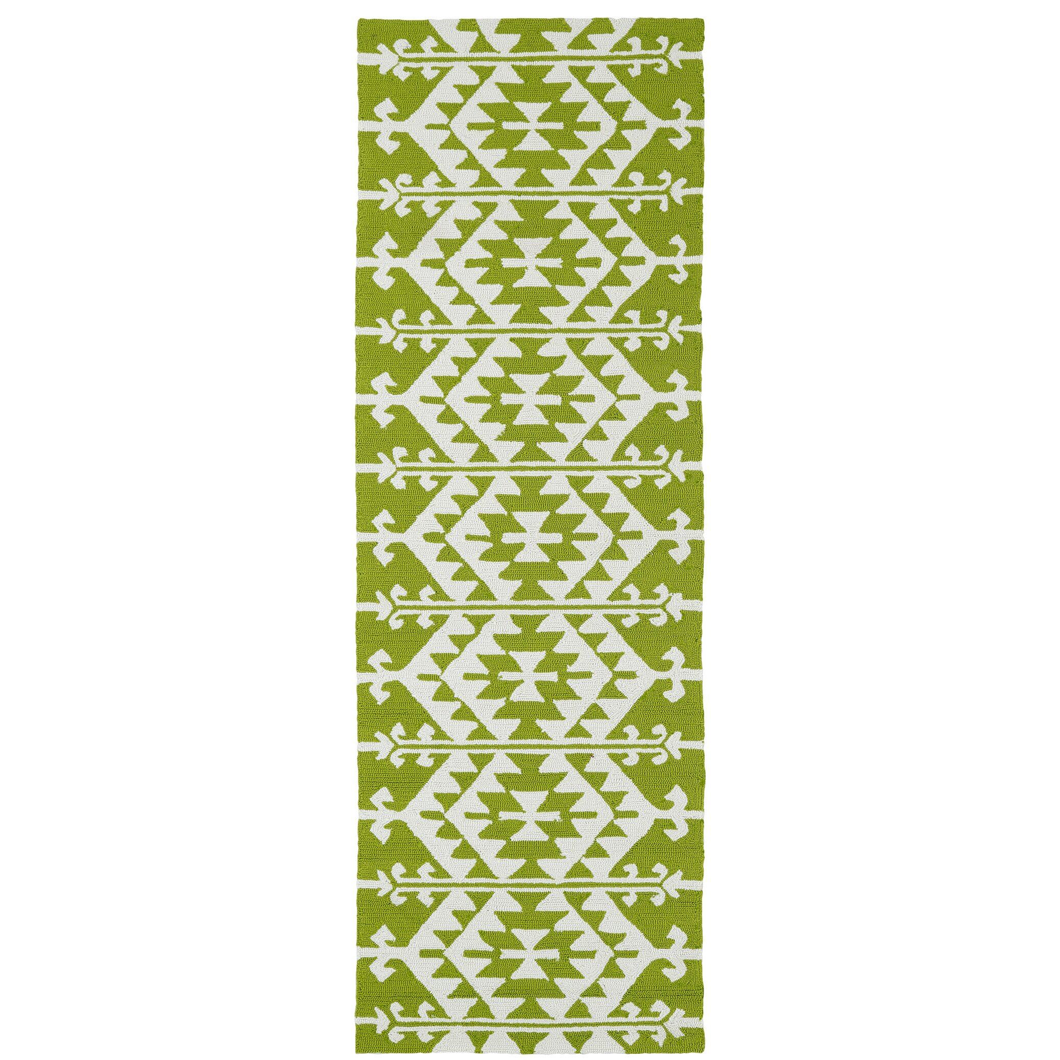 Lime Green Outdoor Area Rug: Varick Gallery Lime Green/Ivory Indoor/Outdoor Area Rug