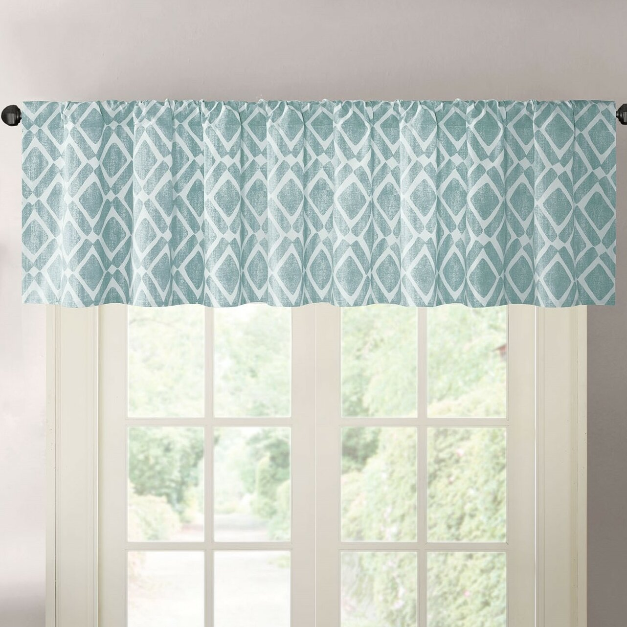 Varick Gallery Lippert Print Light-Filtering Curtain ...