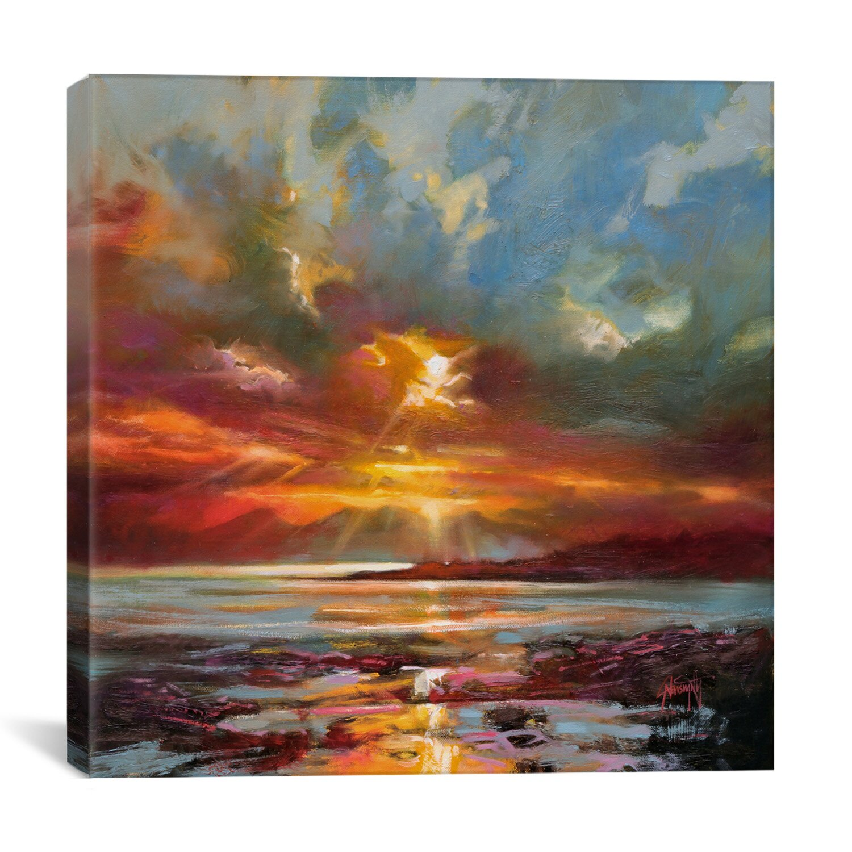 brayden studio sunset over rum by scott naismith painting
