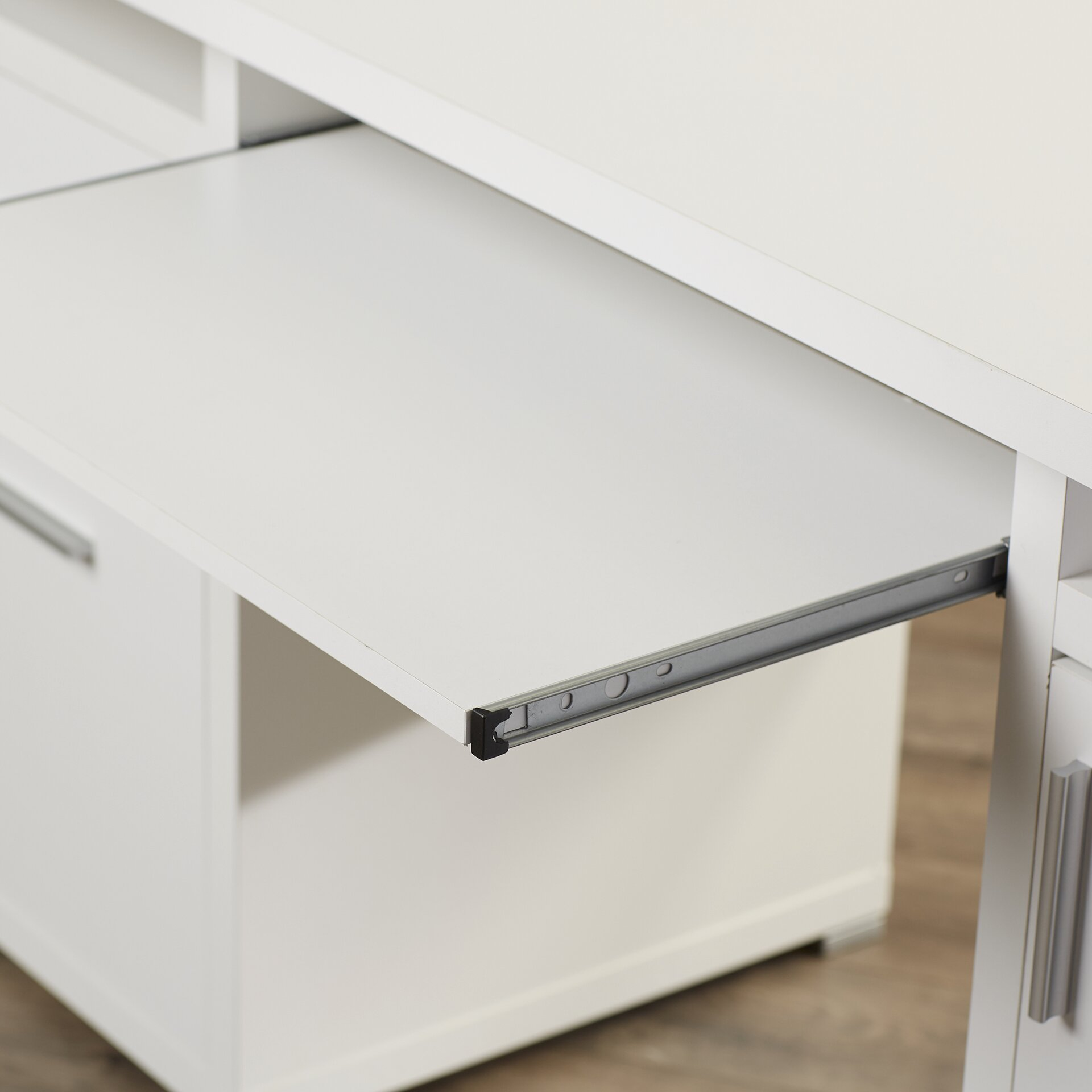 Brayden Studio 2 Drawer Computer Desk Amp Reviews Wayfair