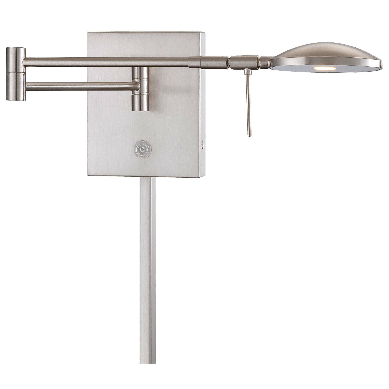 Jeff Wall Light Bulbs : Brayden Studio Jeffrey 1 Light Swing Arm Wall Lamp & Reviews Wayfair
