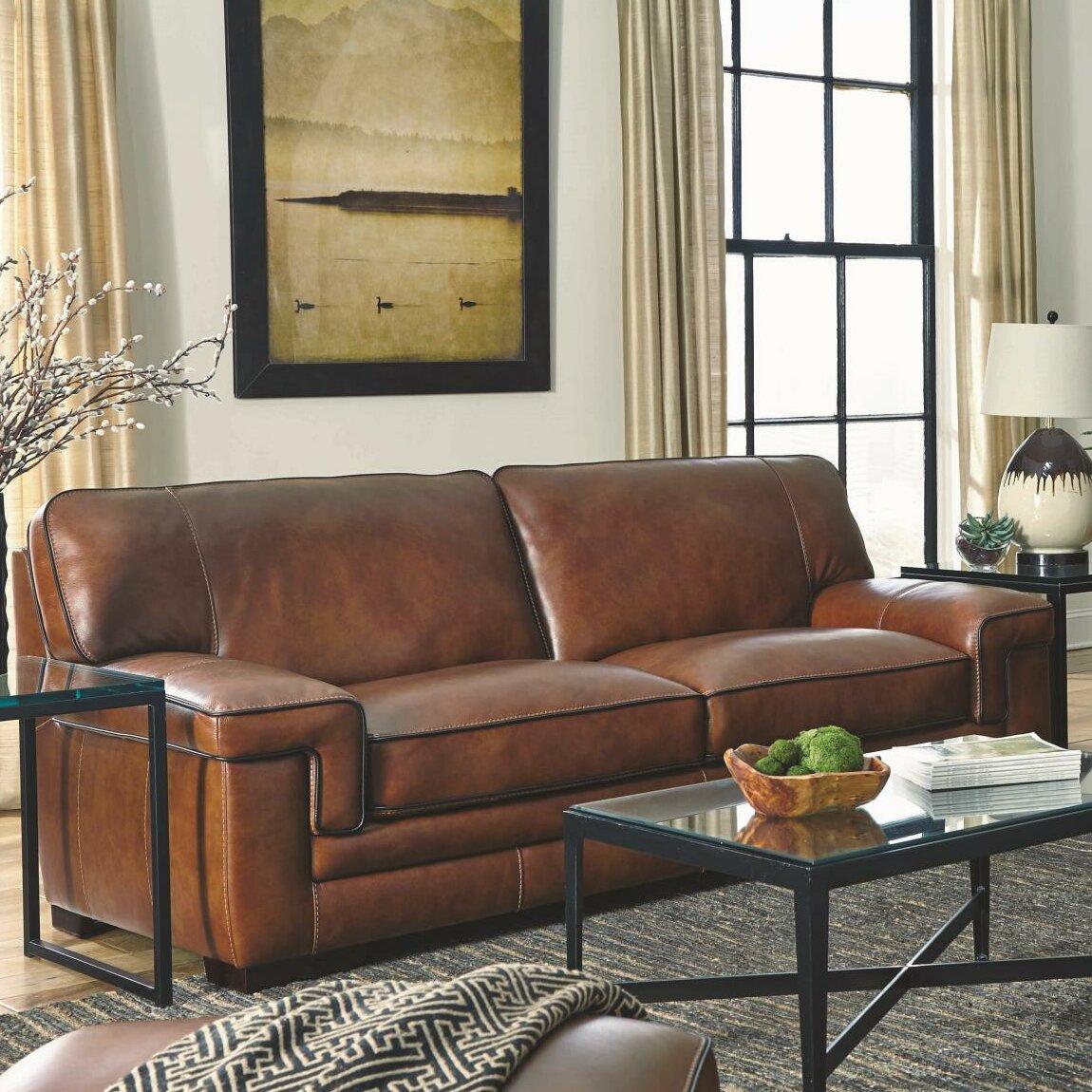 Reviews For Leather Sofas: Simon Li Macco Leather Sofa & Reviews