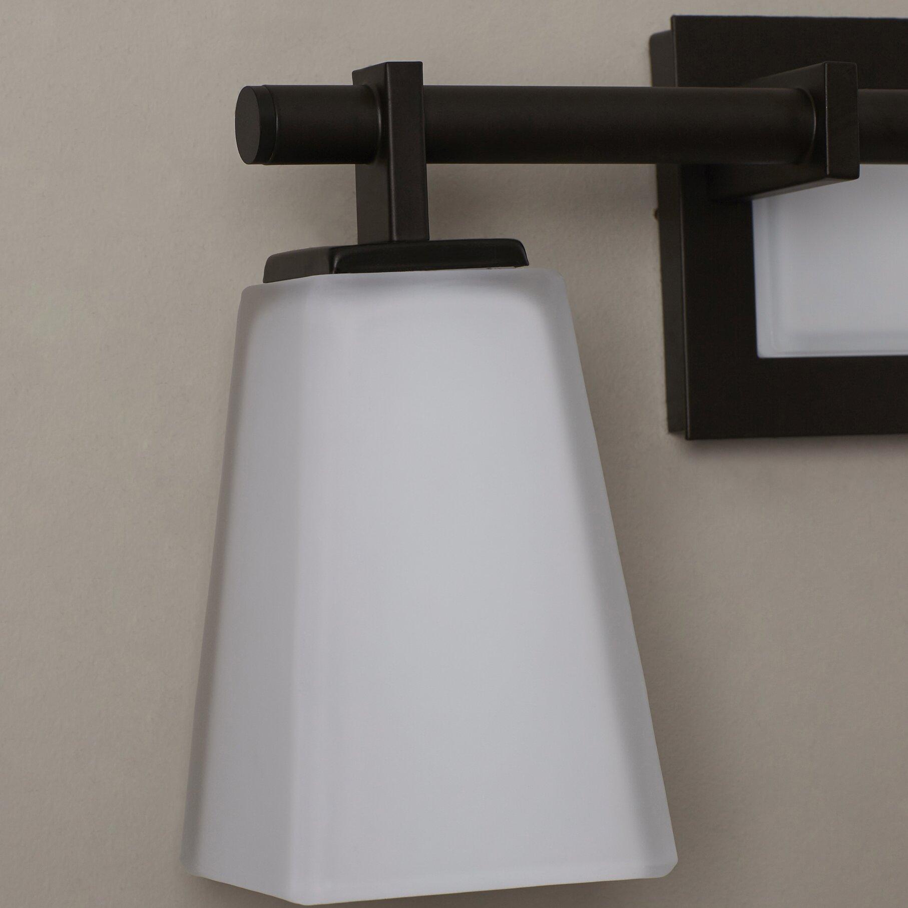 Vanity With Studio Lights : Brayden Studio Vargas 3 Light Vanity Light & Reviews Wayfair