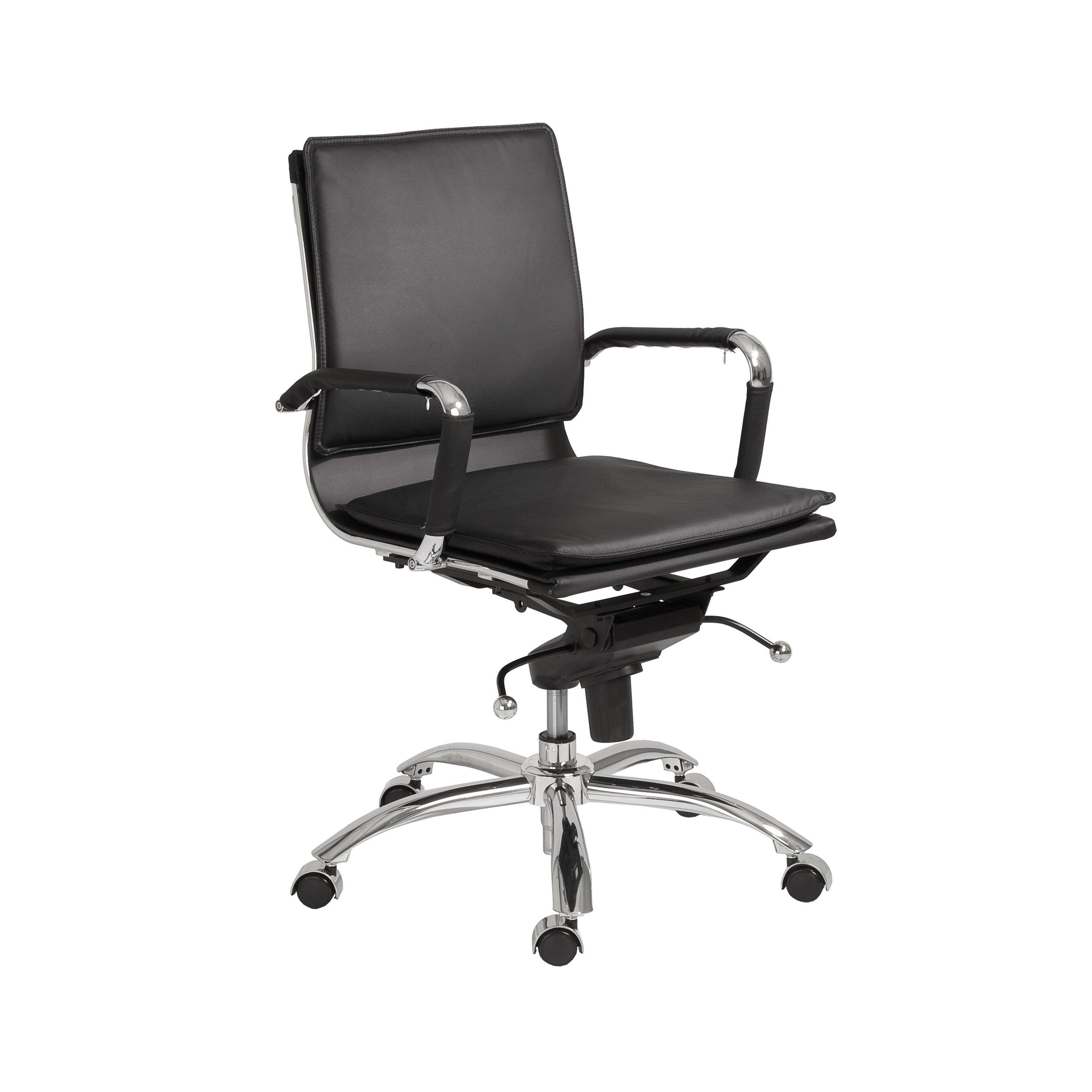 Brayden Studio Kalgoorlie Pro Low Back Adjustable Office Chair Reviews