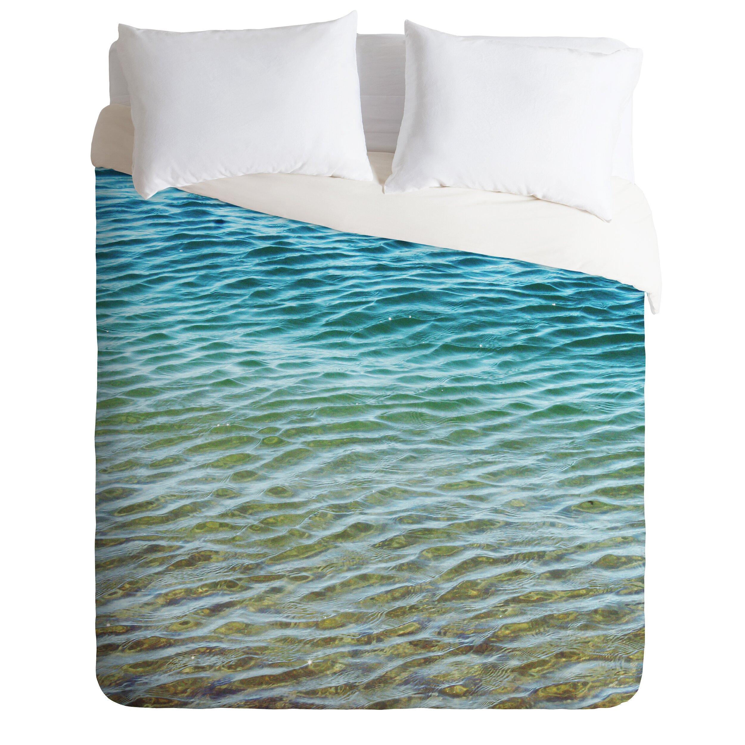 Brayden studio meunier ombre sea duvet cover reviews for Studio one bed cover