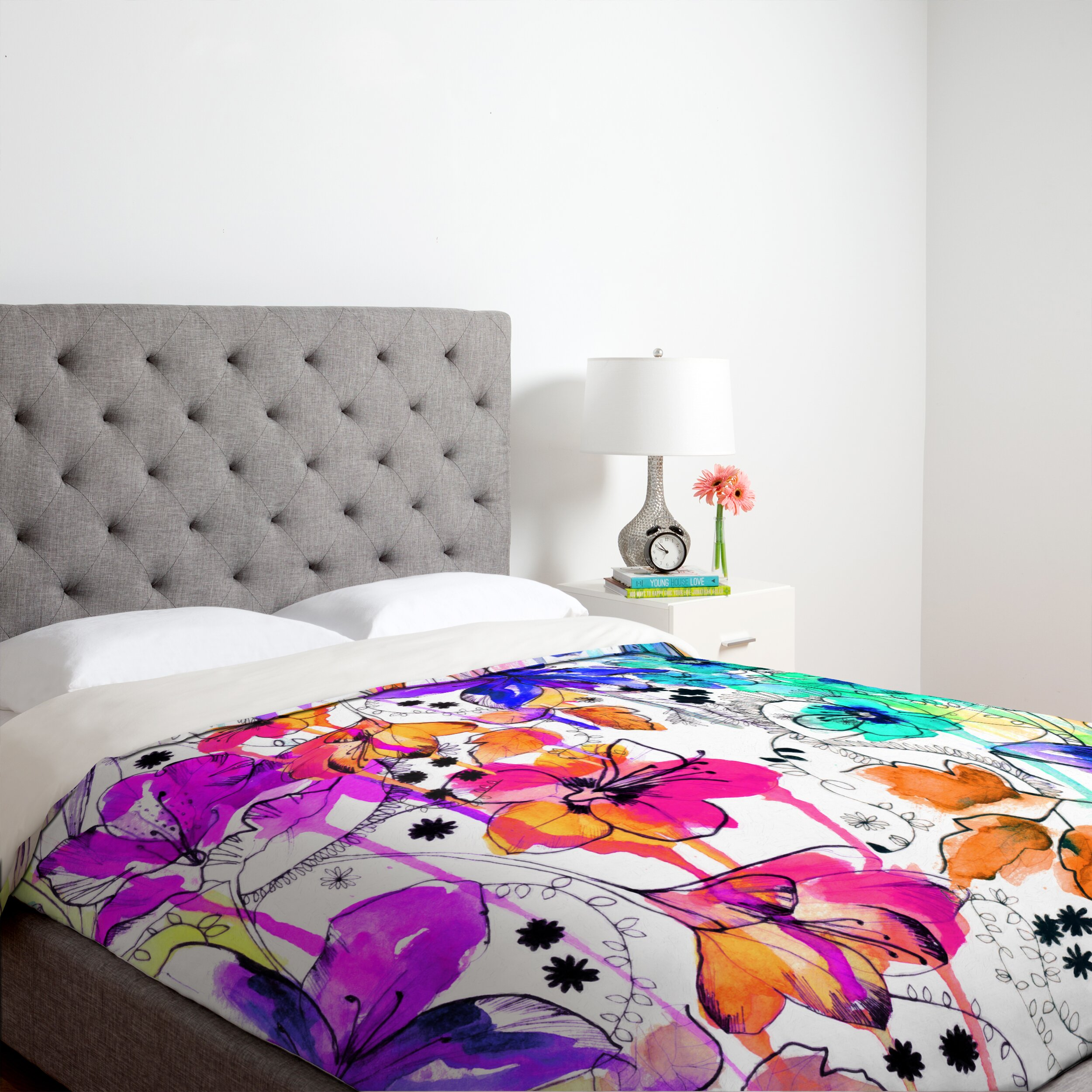 Brayden studio nolting 1 duvet cover collection reviews for Studio one bed cover