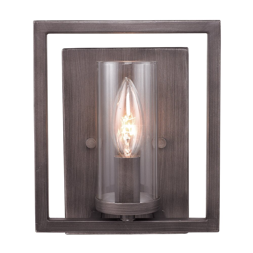 Brayden Studio Politte 1 Light Wall Sconce & Reviews Wayfair