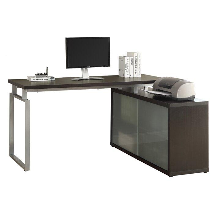 brayden studio cramer l shaped writing desk reviews wayfair