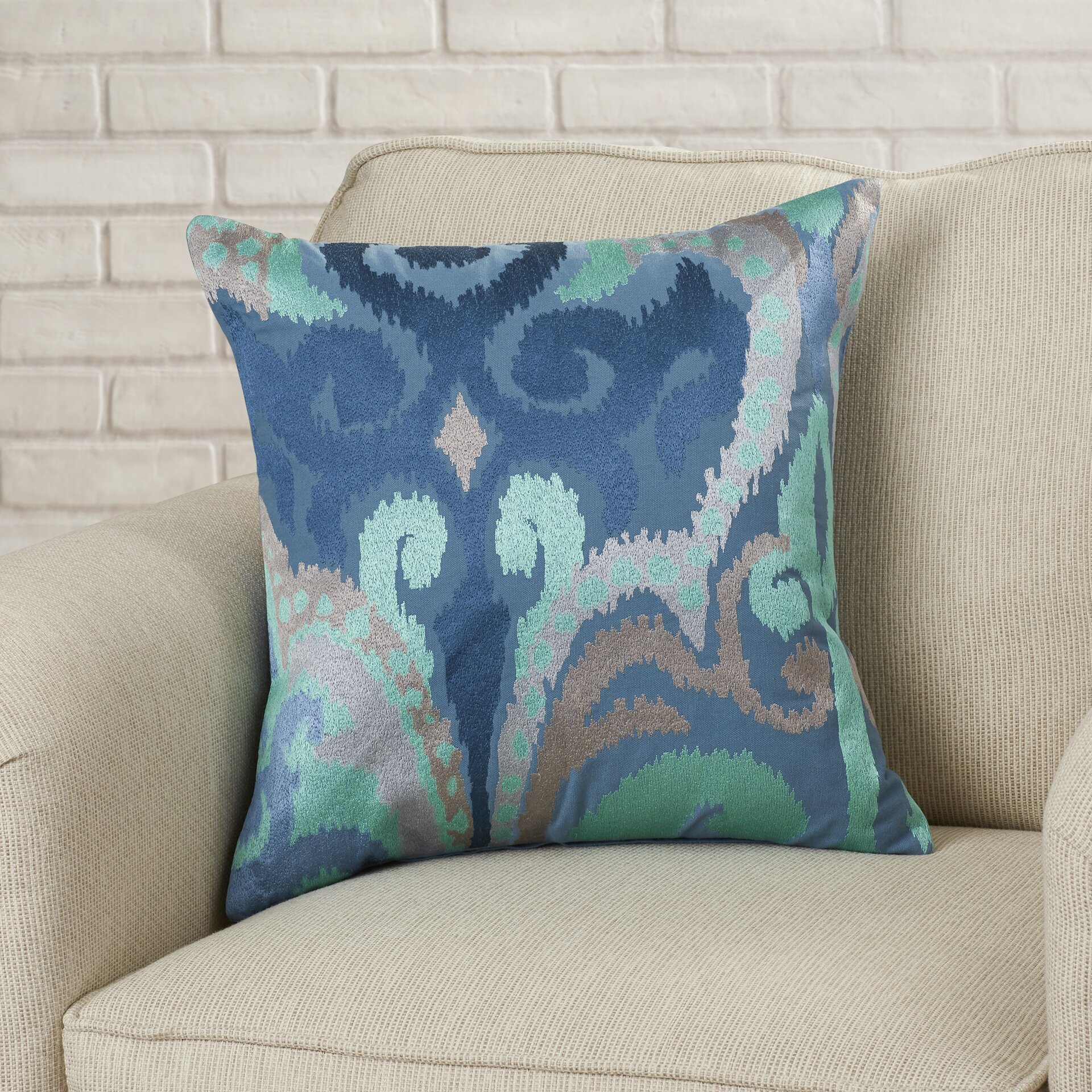 Max Studio Home Decorative Pillows : Brayden Studio Chamberland Throw Pillow & Reviews Wayfair