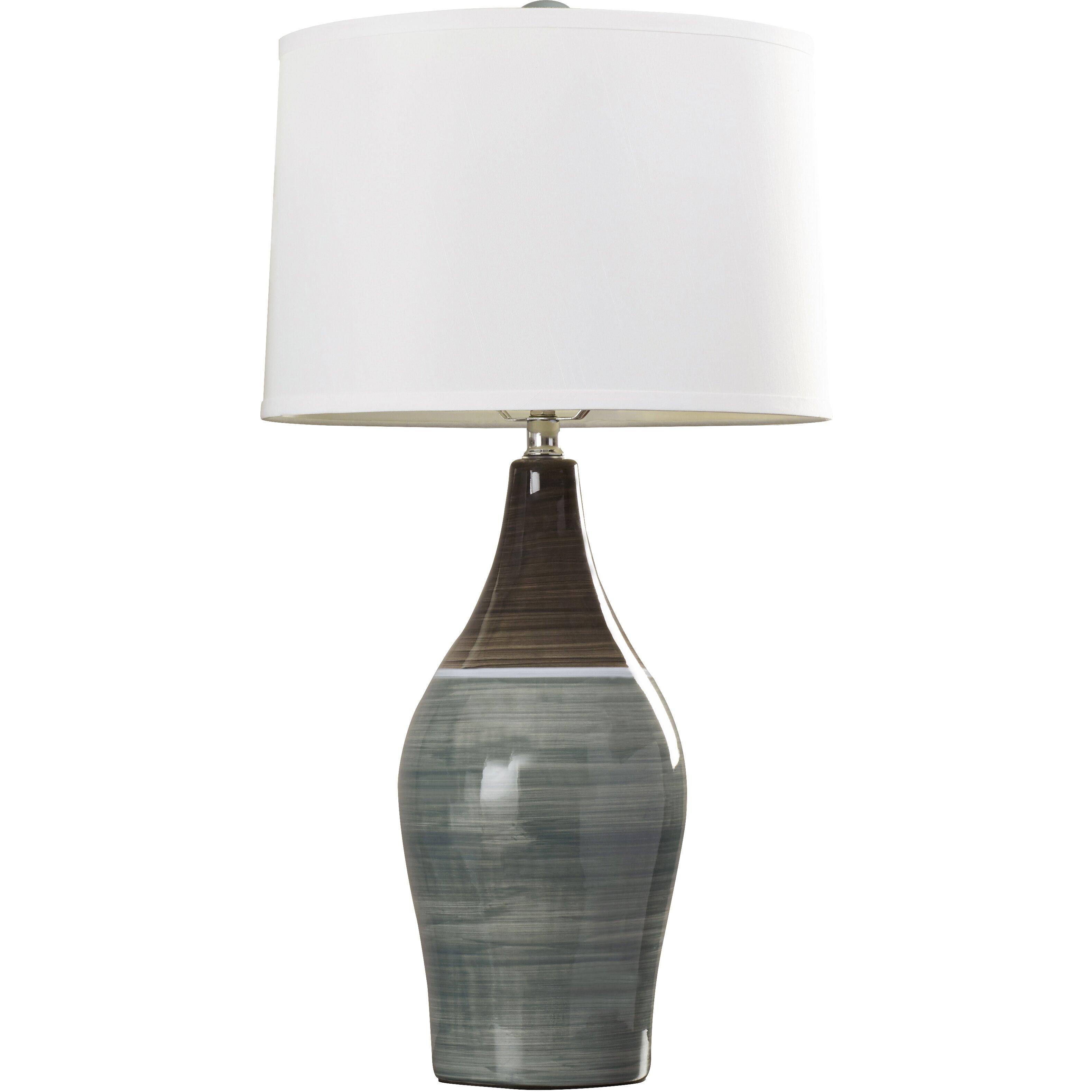 brayden studio carrillo 28 table lamps set of 2 reviews wayfair. Black Bedroom Furniture Sets. Home Design Ideas