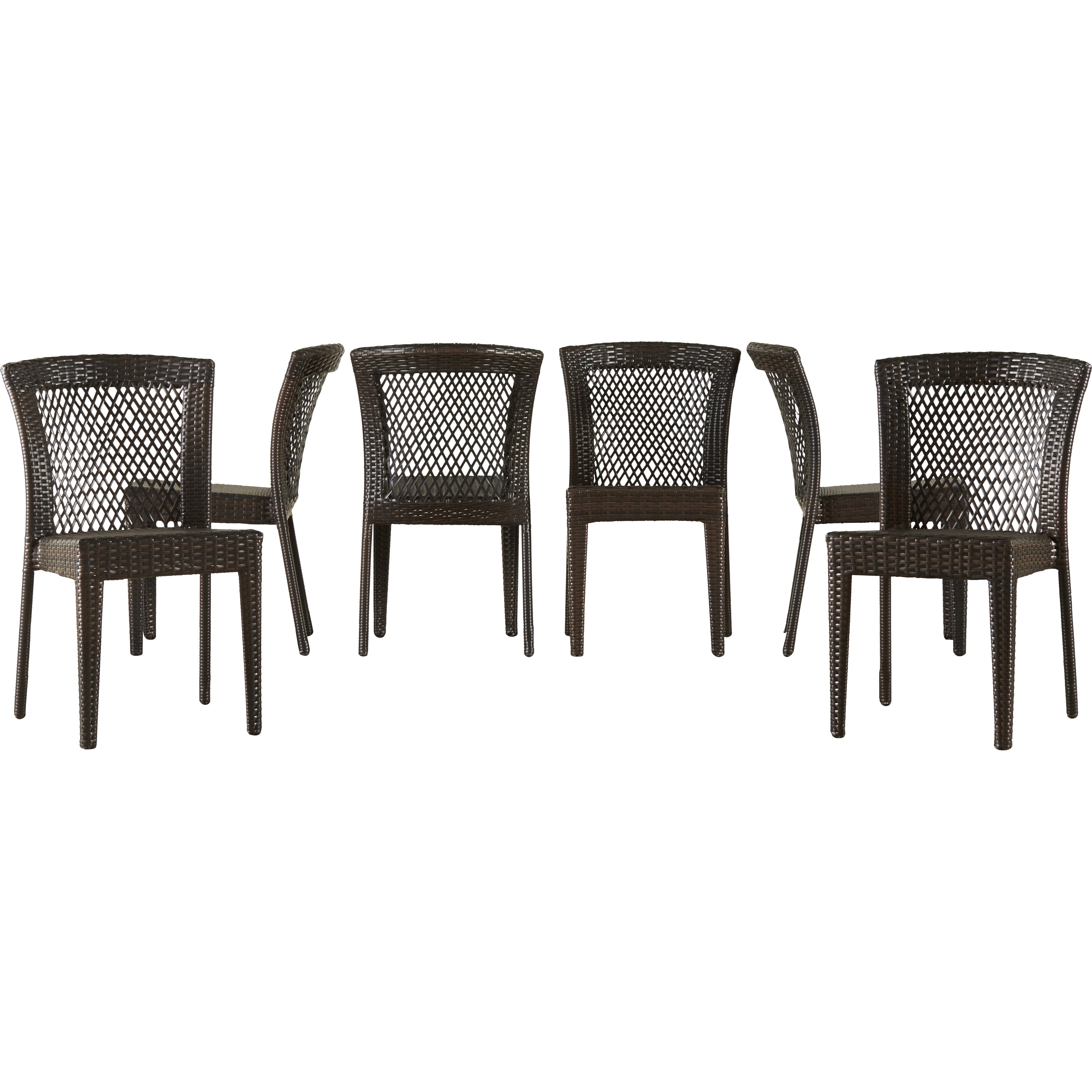 Brayden Studio Bautista 7 Piece Outdoor Dining Set Reviews Wayfair