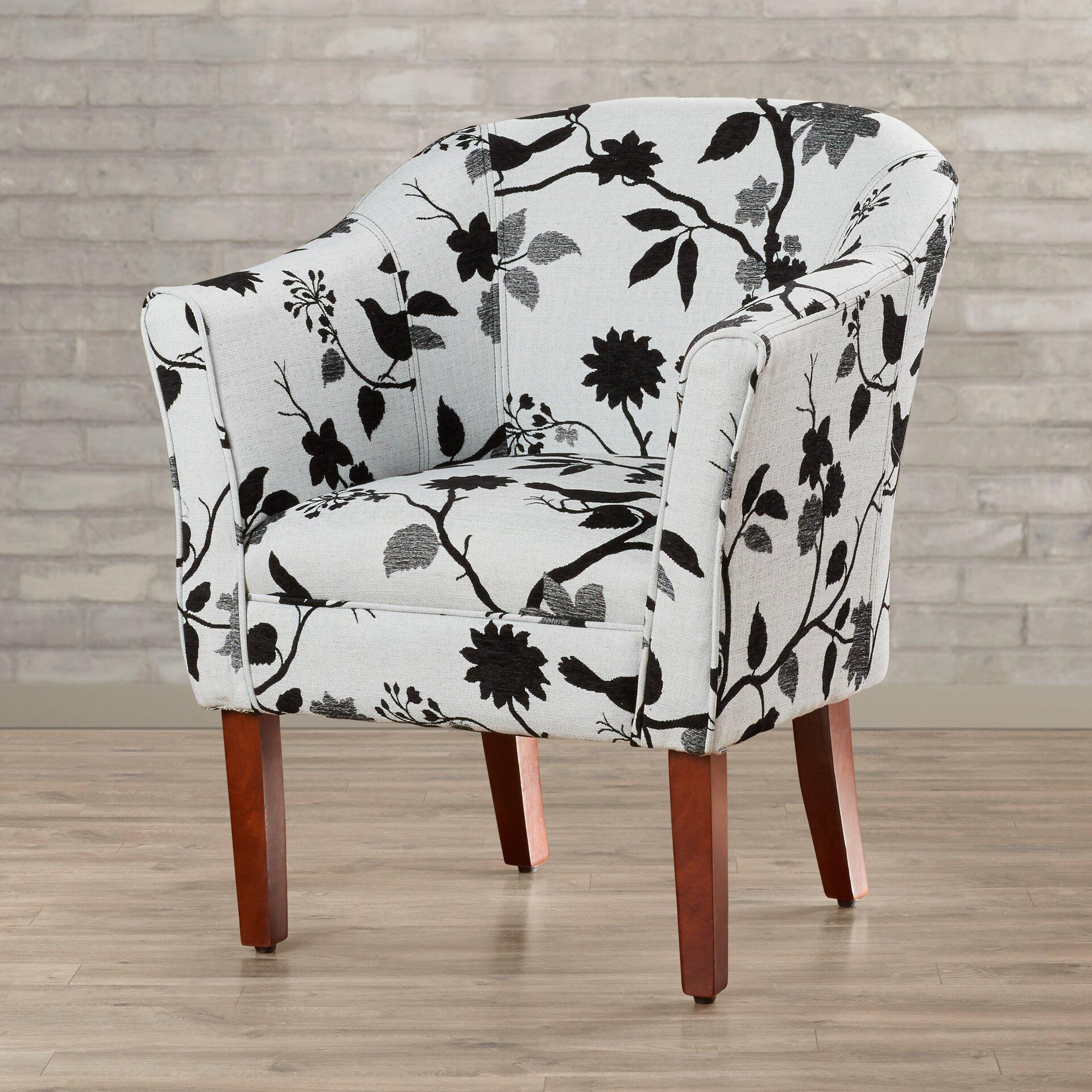 Brayden Studio Cortez Barrel Chair Amp Reviews Wayfair