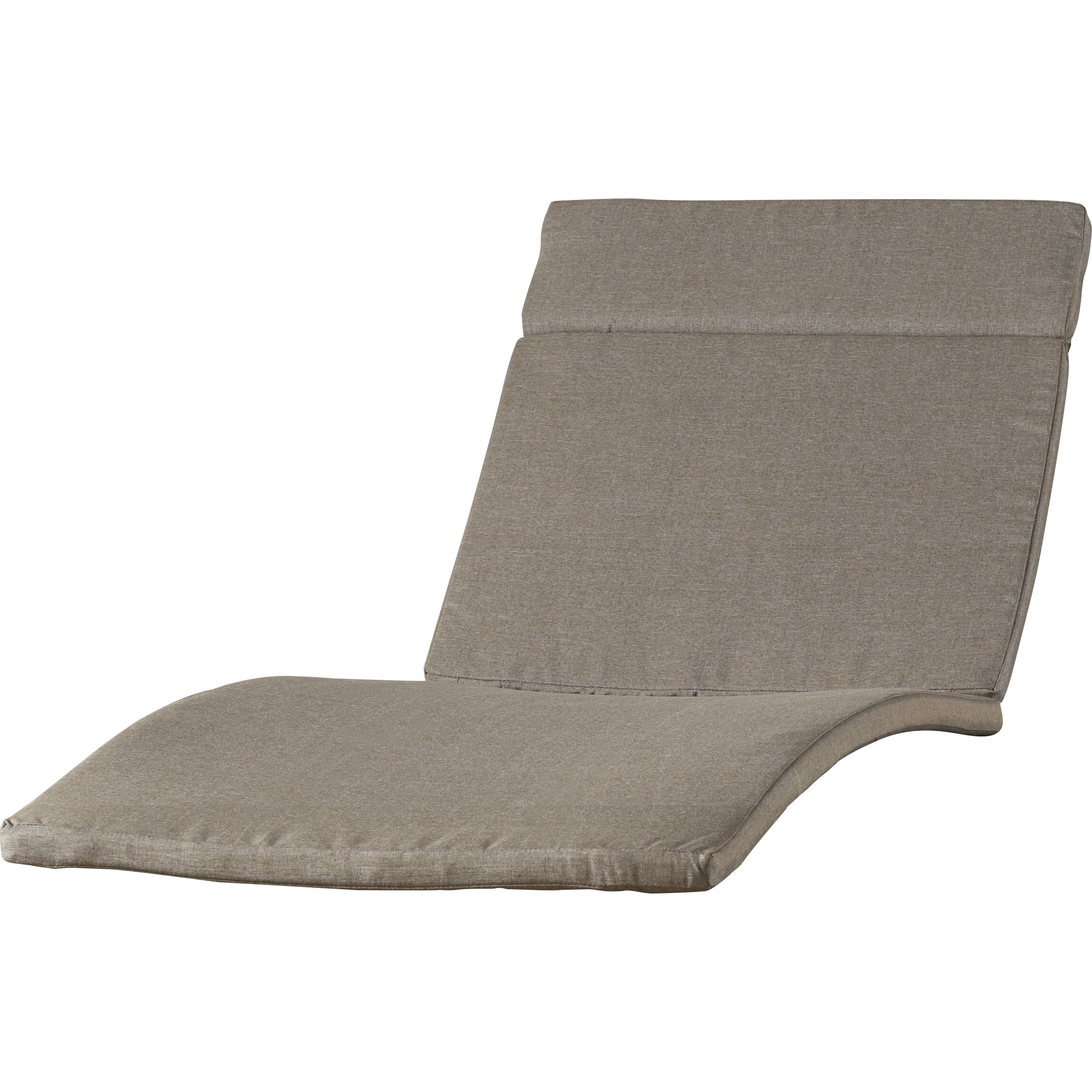Brayden studio cara outdoor chaise lounge cushion for Chaise lounge cushion outdoor