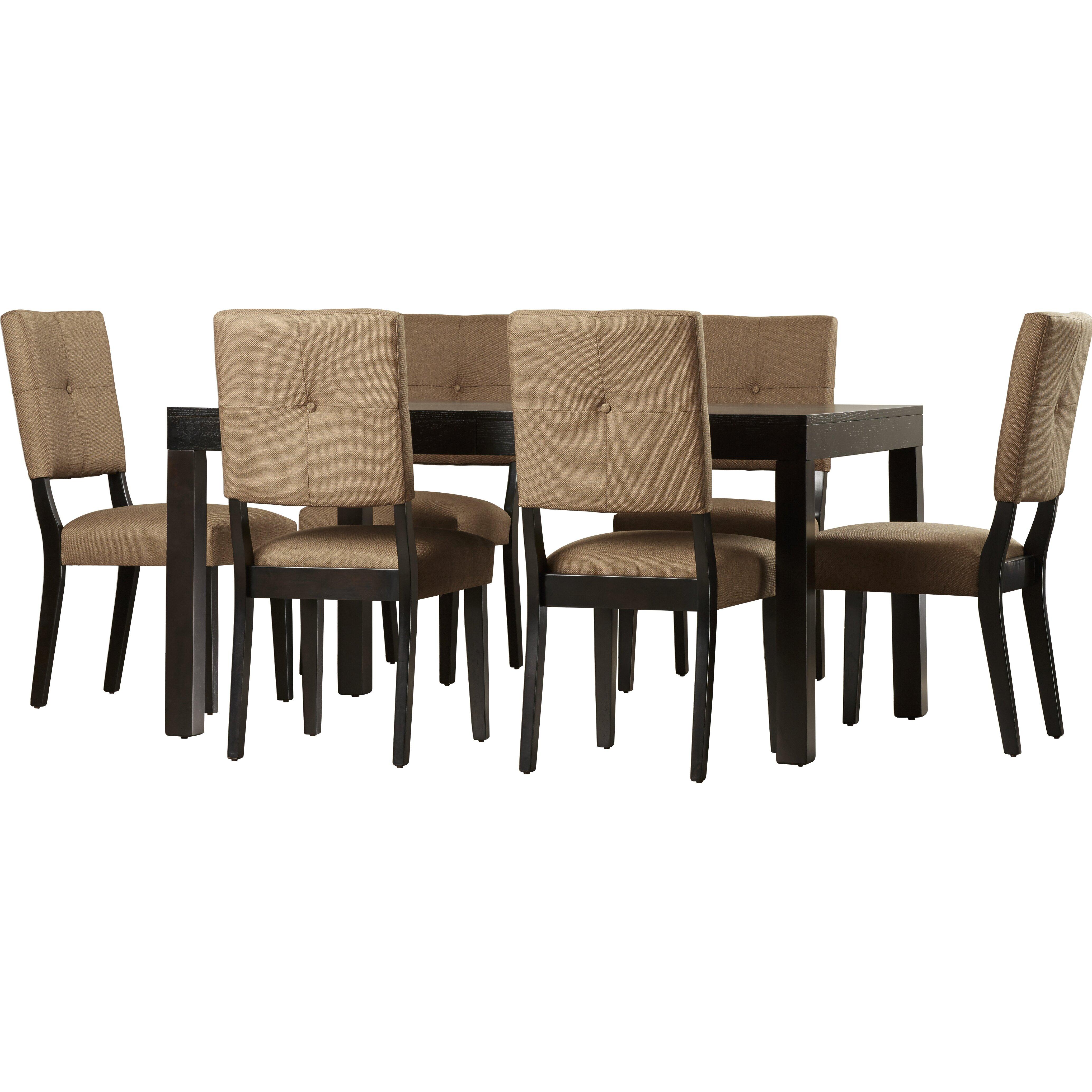 Brayden Studio Mcwhorter Dining Table Reviews: Brayden Studio Fairlee 7 Piece Dining Set & Reviews