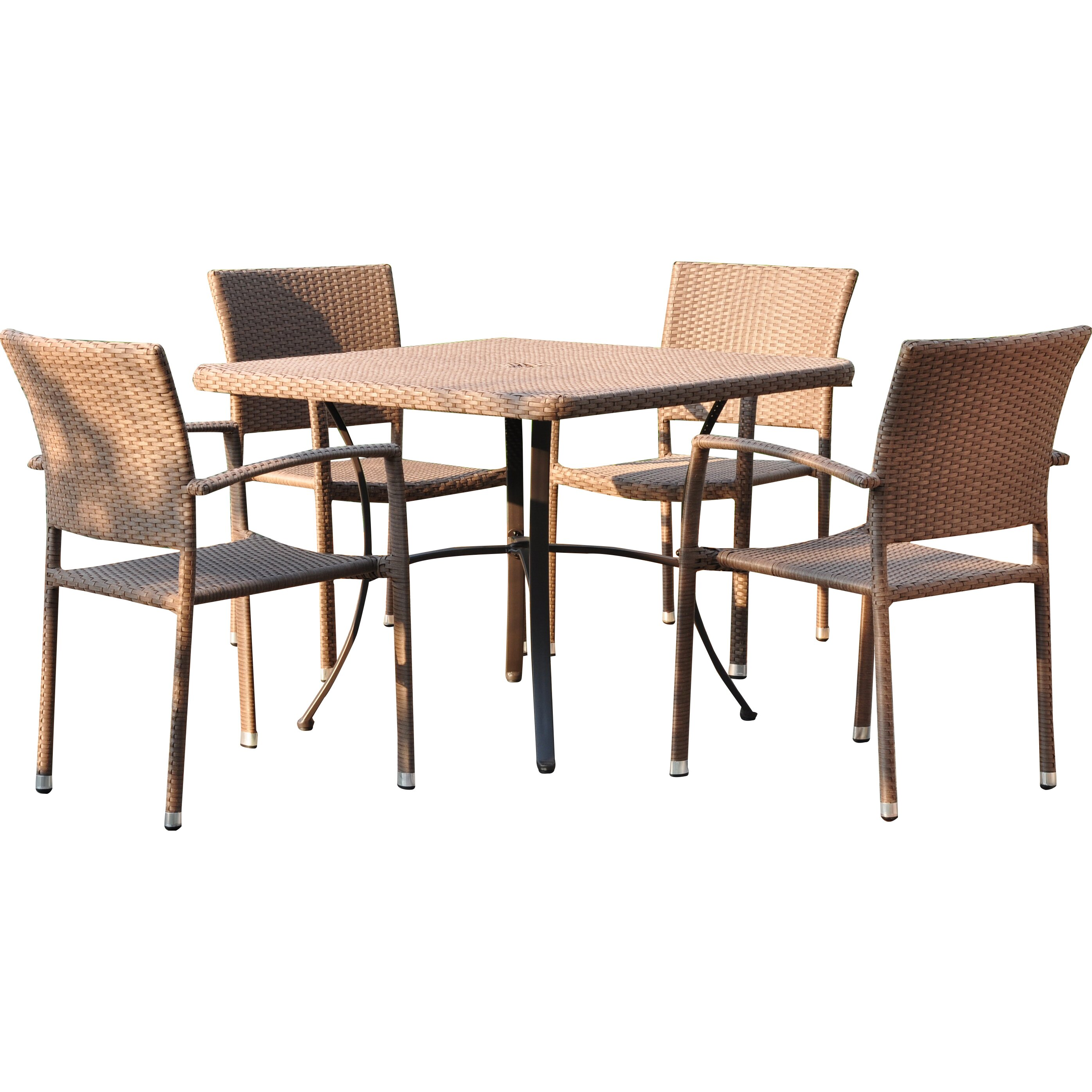 Brayden Studio Katzer 5 Piece Dining Set Wayfair
