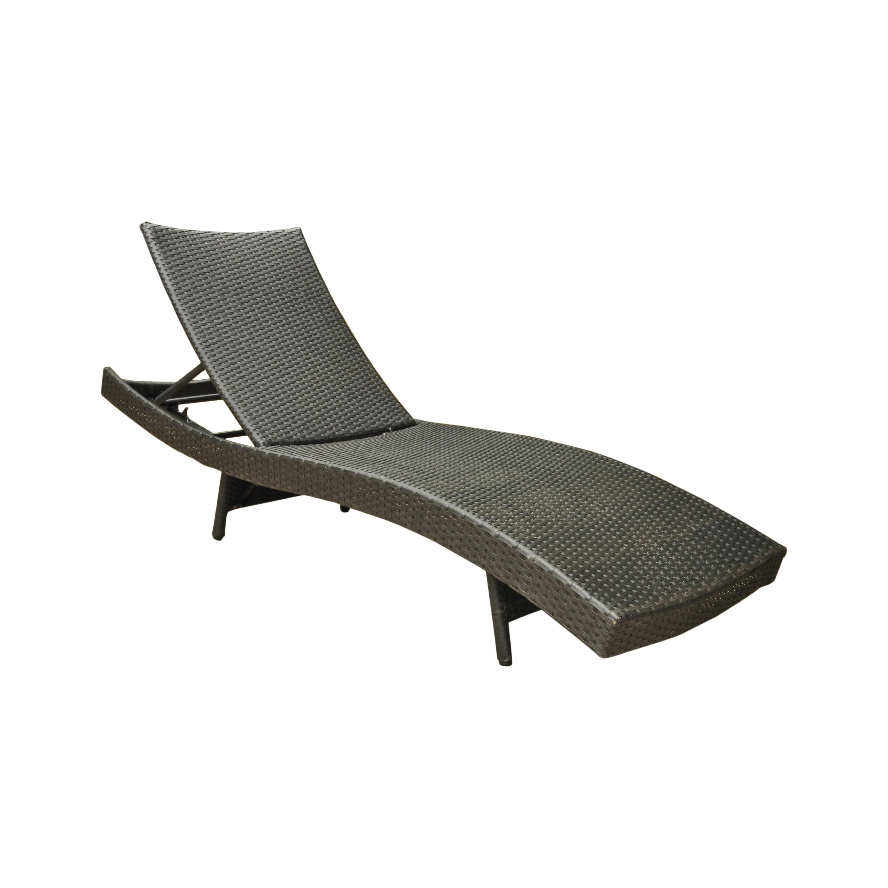 Brayden studio katzer chaise lounge reviews wayfair for Chaise longue barcelona