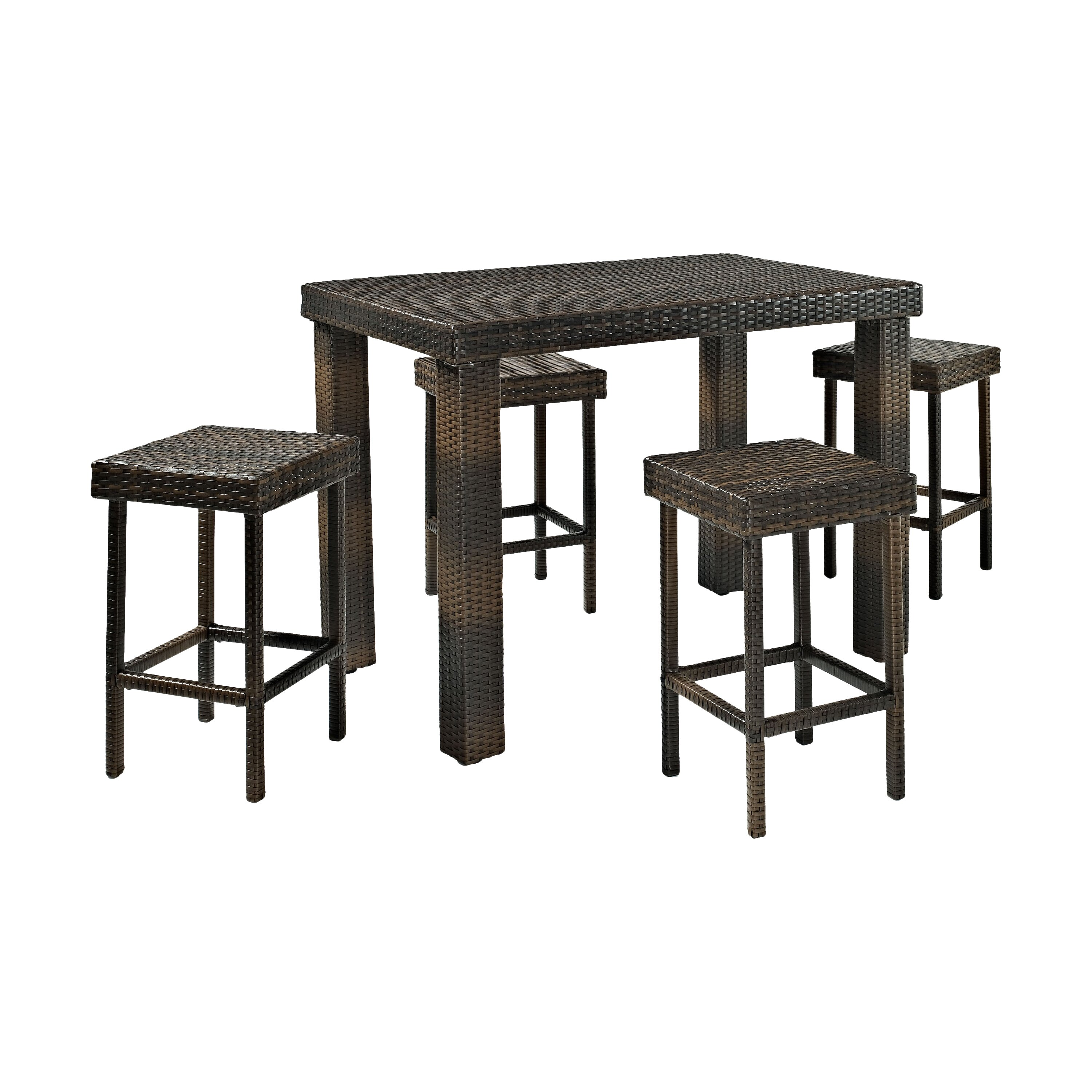 Brayden Studio Crosson 5 Piece Bar Set Reviews Wayfair