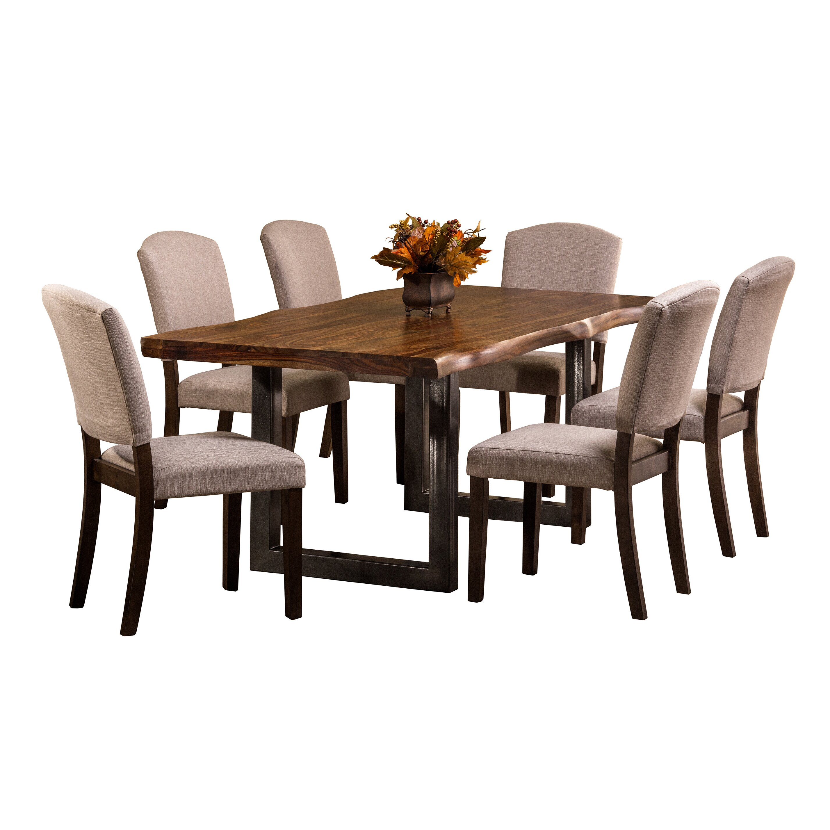 Brayden studio linde 7 piece dining set wayfair for 7 piece dining set