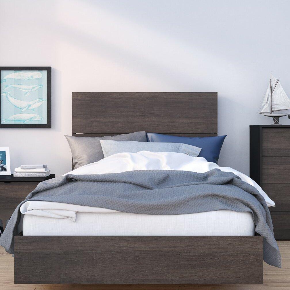 Brayden Studio Eucleides Full Double Platform Bed