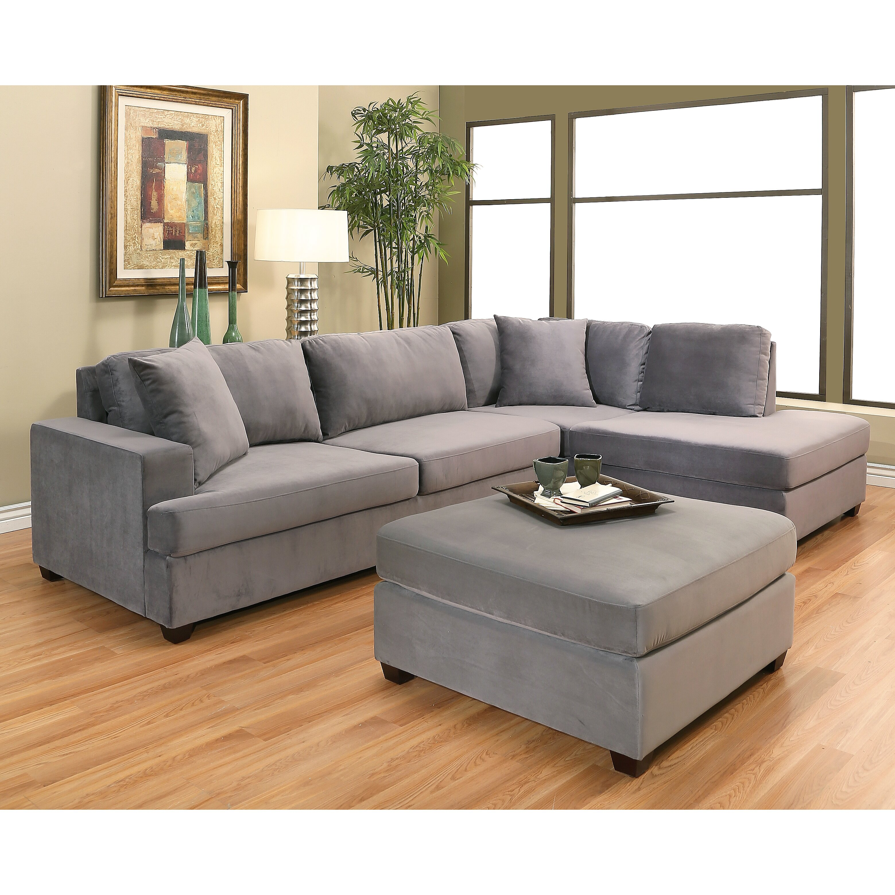 Sectional Sofas For Sale In Huntsville Al: Brayden Studio Berryhill Chaise Sectional