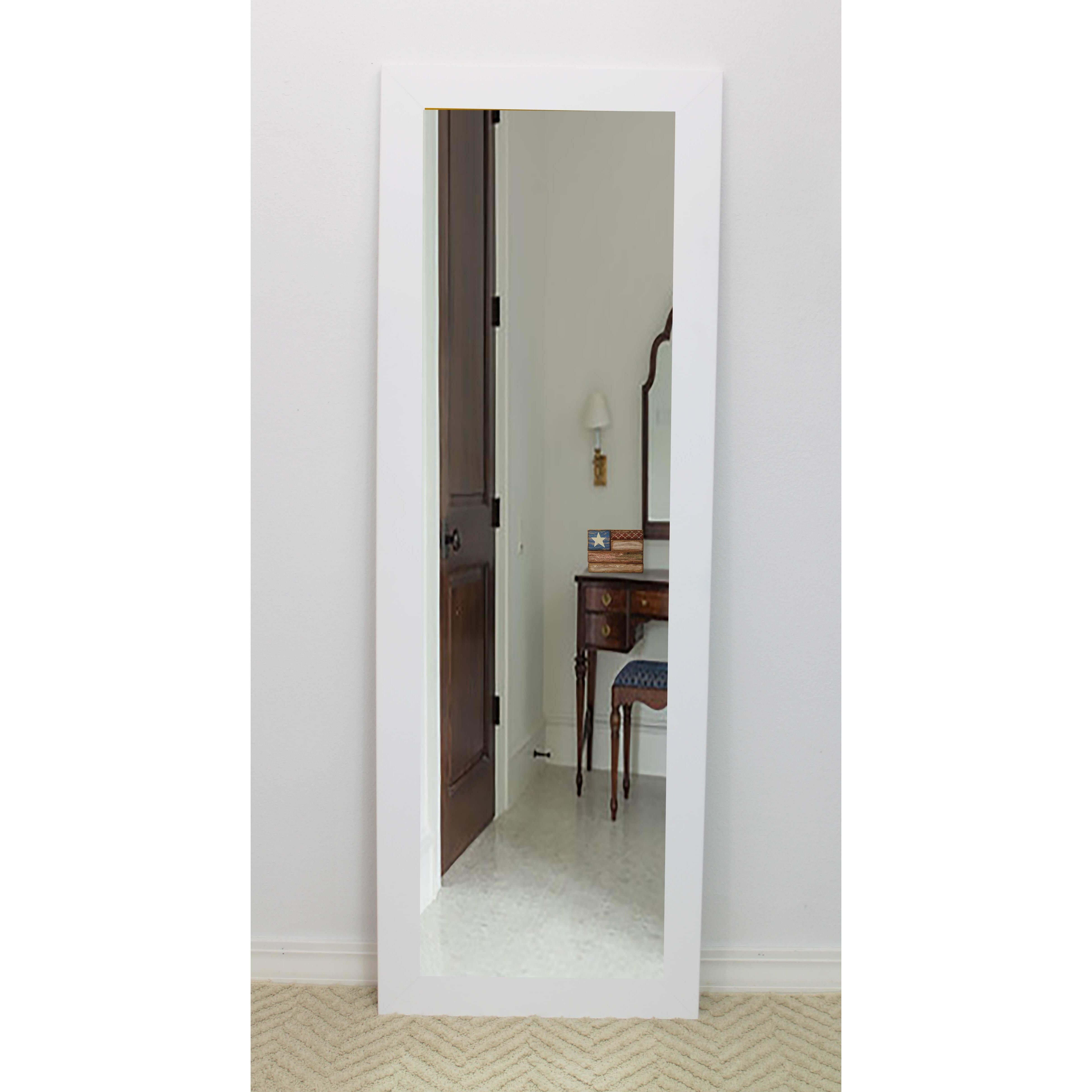 Brayden Studio White Vanity Wall Mirror Amp Reviews Wayfair