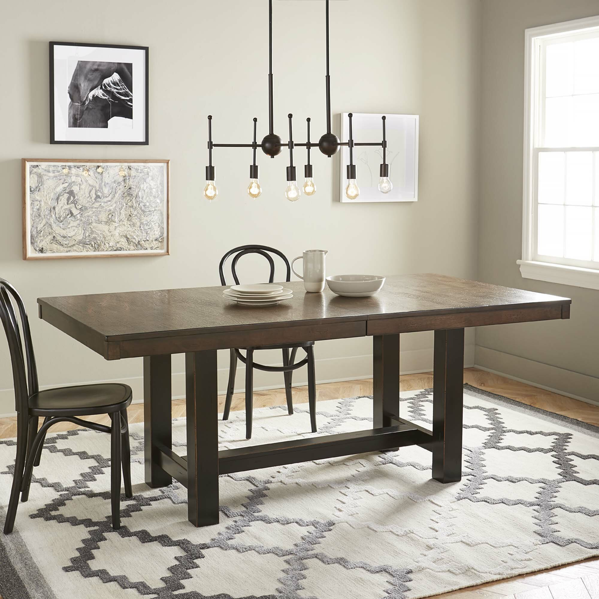 Brayden Studio Mcwhorter Dining Table Reviews: Brayden Studio Lower Shockerwick Extendable Dining Table