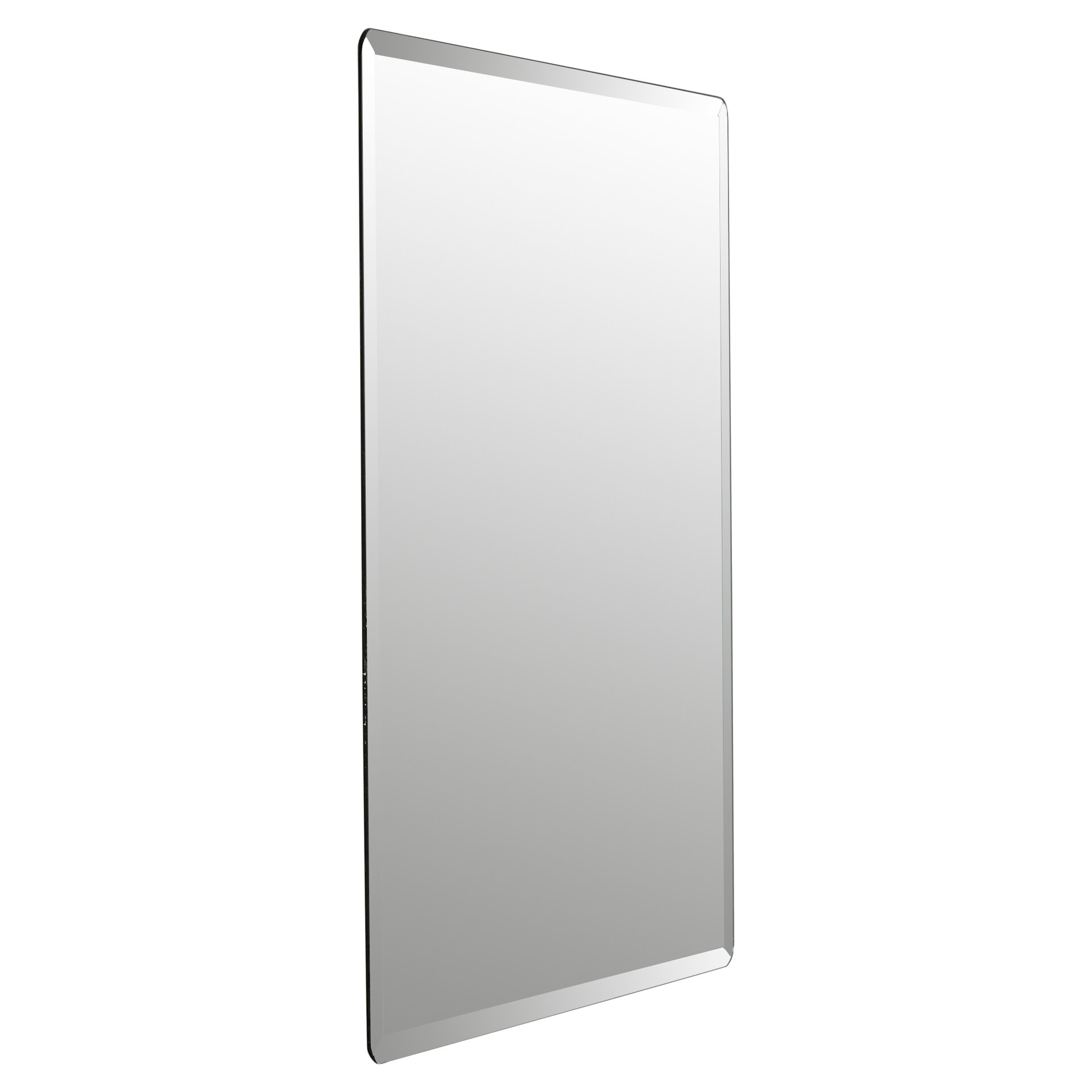 Wade Logan Kayden Frameless Beveled Wall Mirror Amp Reviews