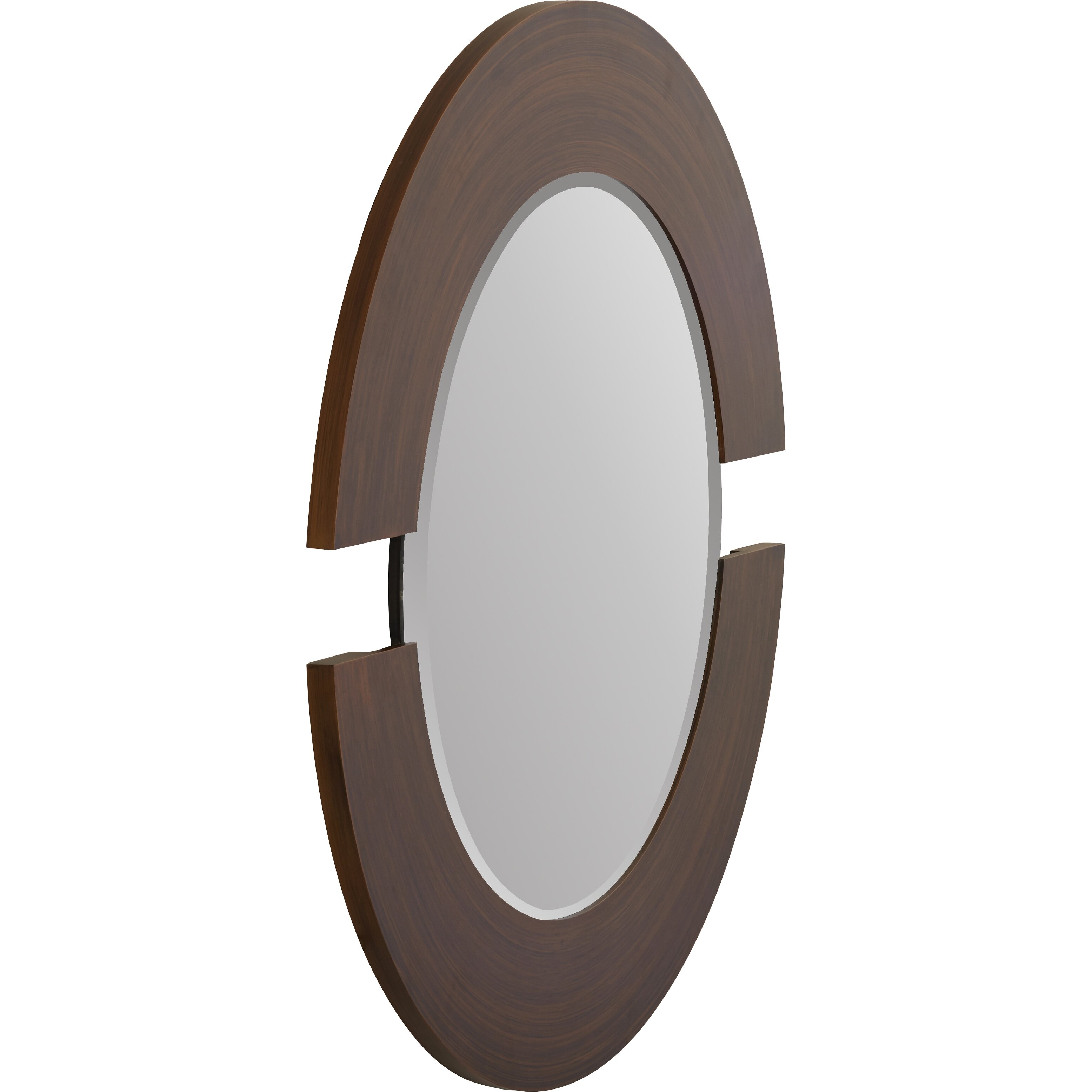 Wade logan matthew round accent mirror reviews wayfair for Accent mirrors