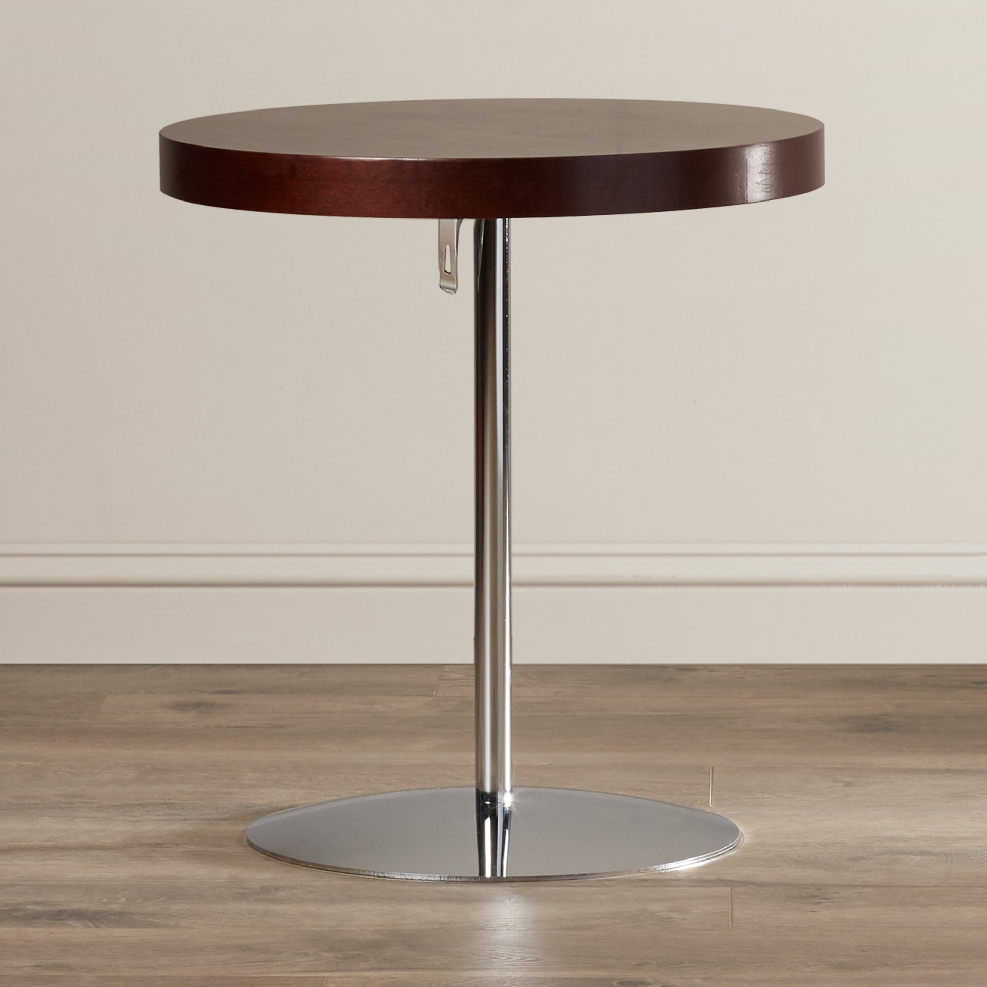 Wood And Metal Uriah Adjustable Accent Table: Wade Logan Acosta Wood Adjustable End Table & Reviews