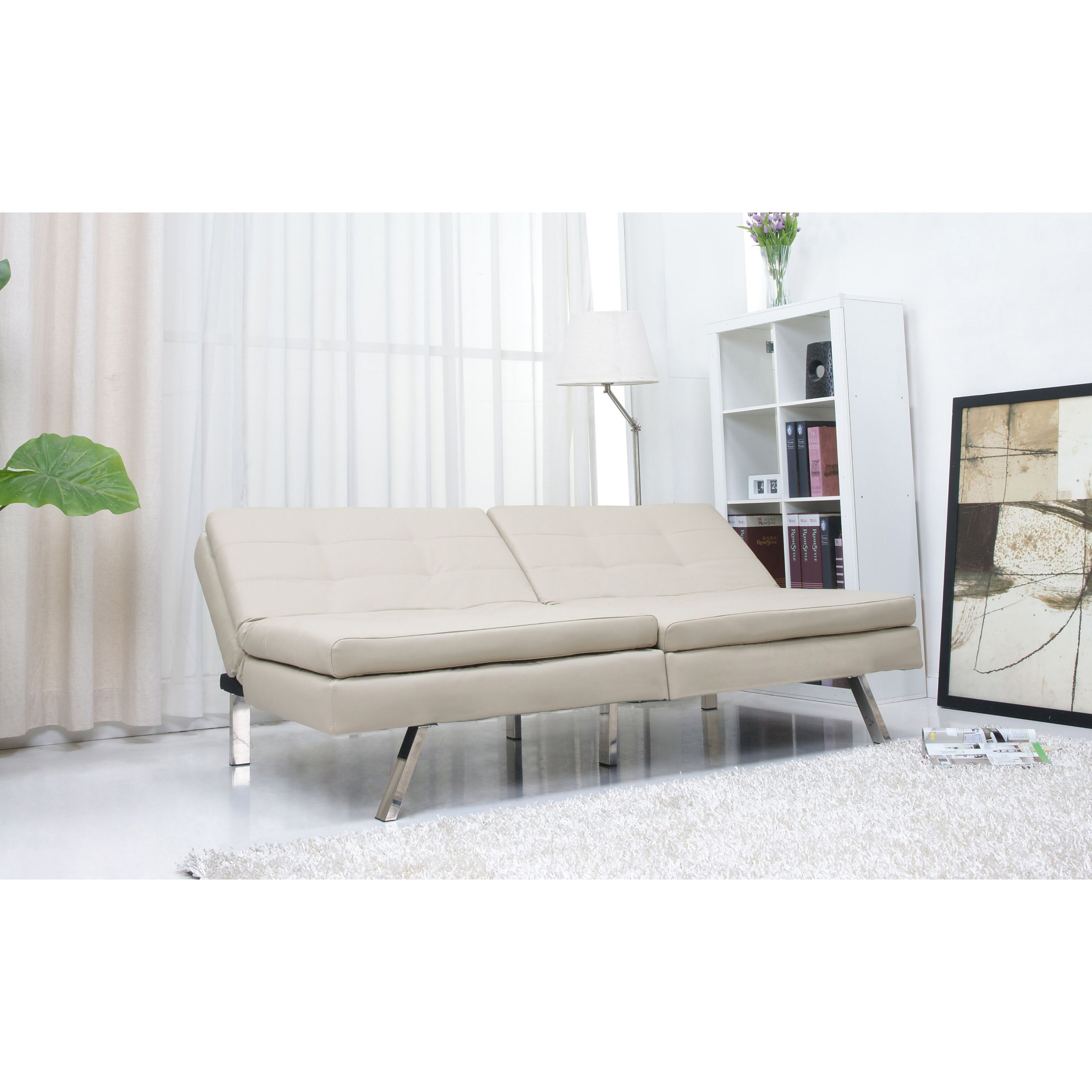 Wade Logan Devonte Sleeper Sofa Amp Reviews Wayfair