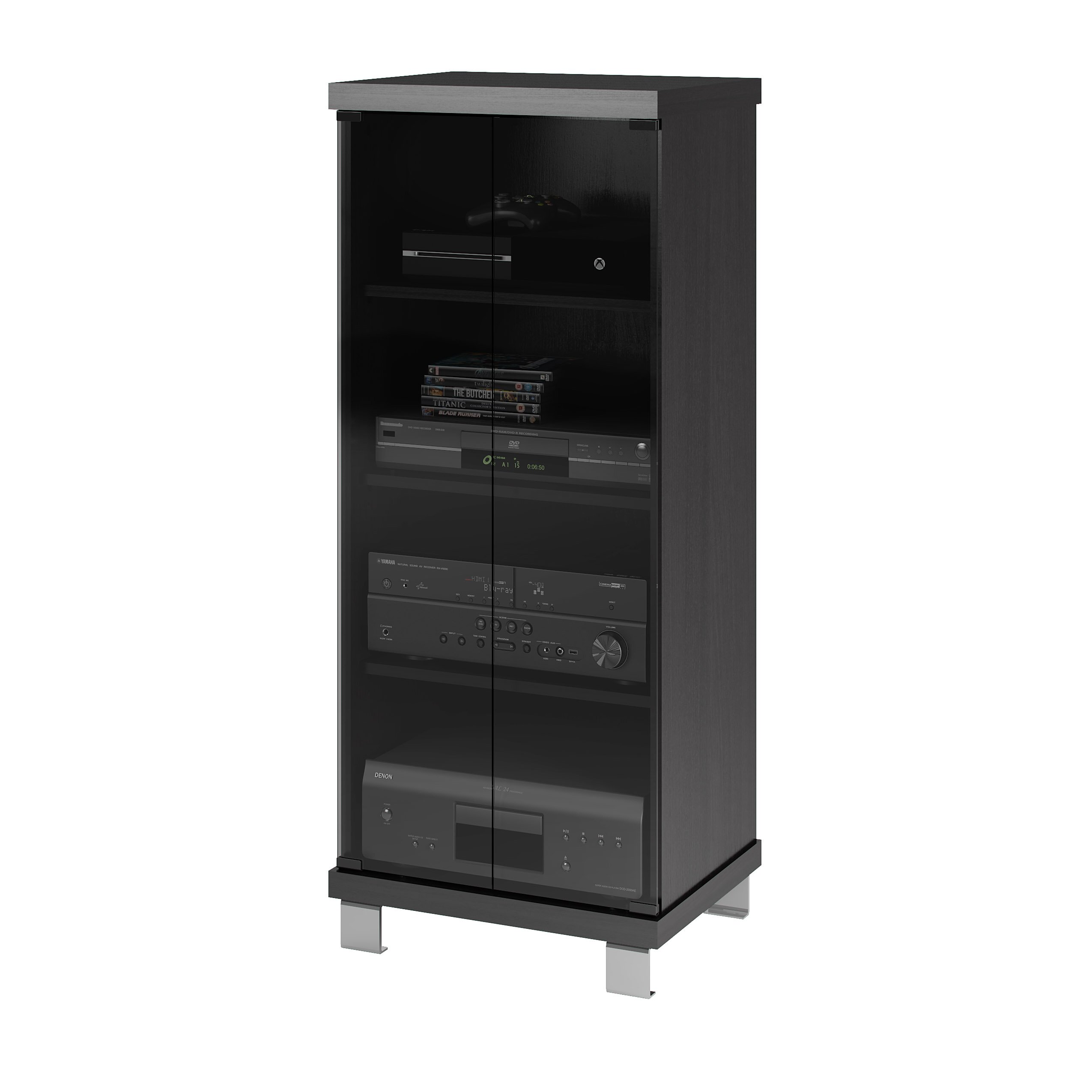 Wade logan multimedia cabinet reviews wayfair - Kabinet multimedia ...
