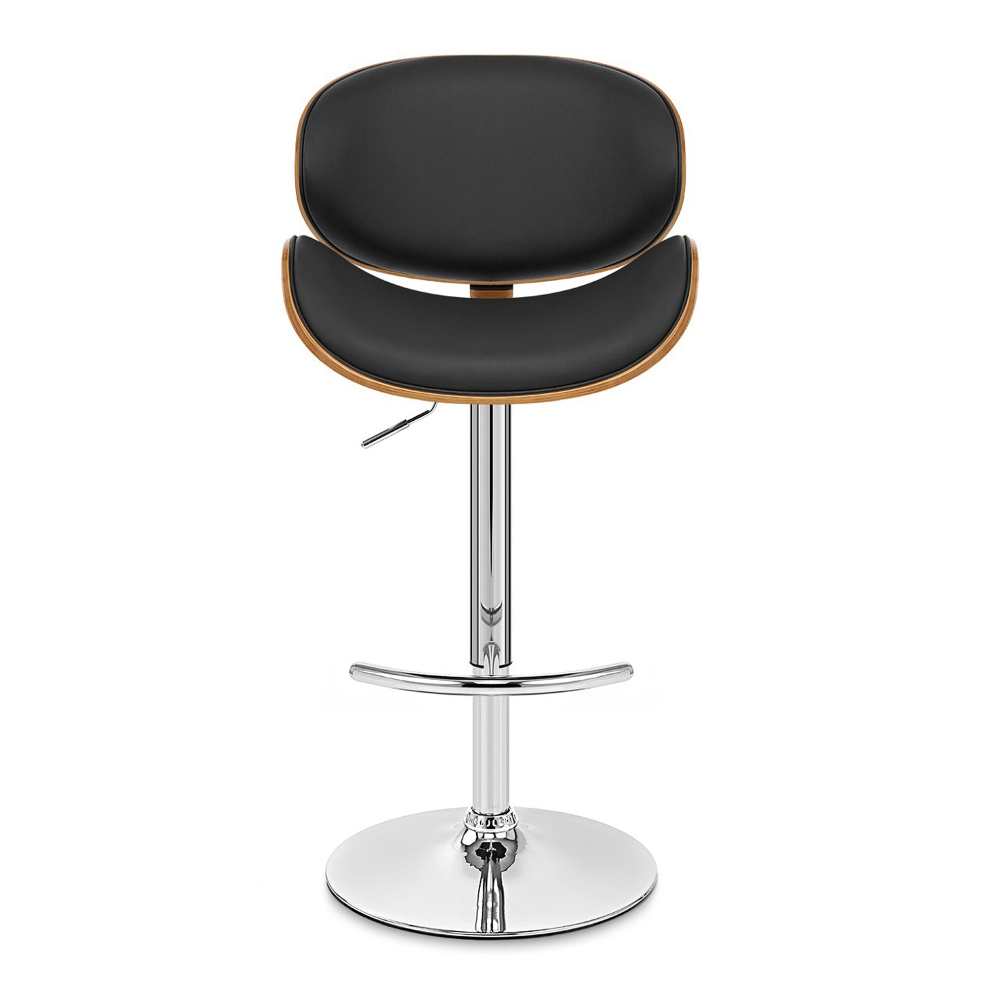 Wade Logan Adjustable Height Swivel Bar Stool Amp Reviews