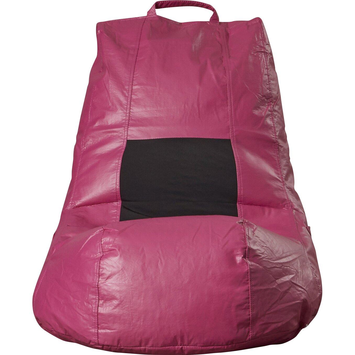 Wade Logan Jasper Vinyl Bean Bag Chair Amp Reviews Wayfair Ca